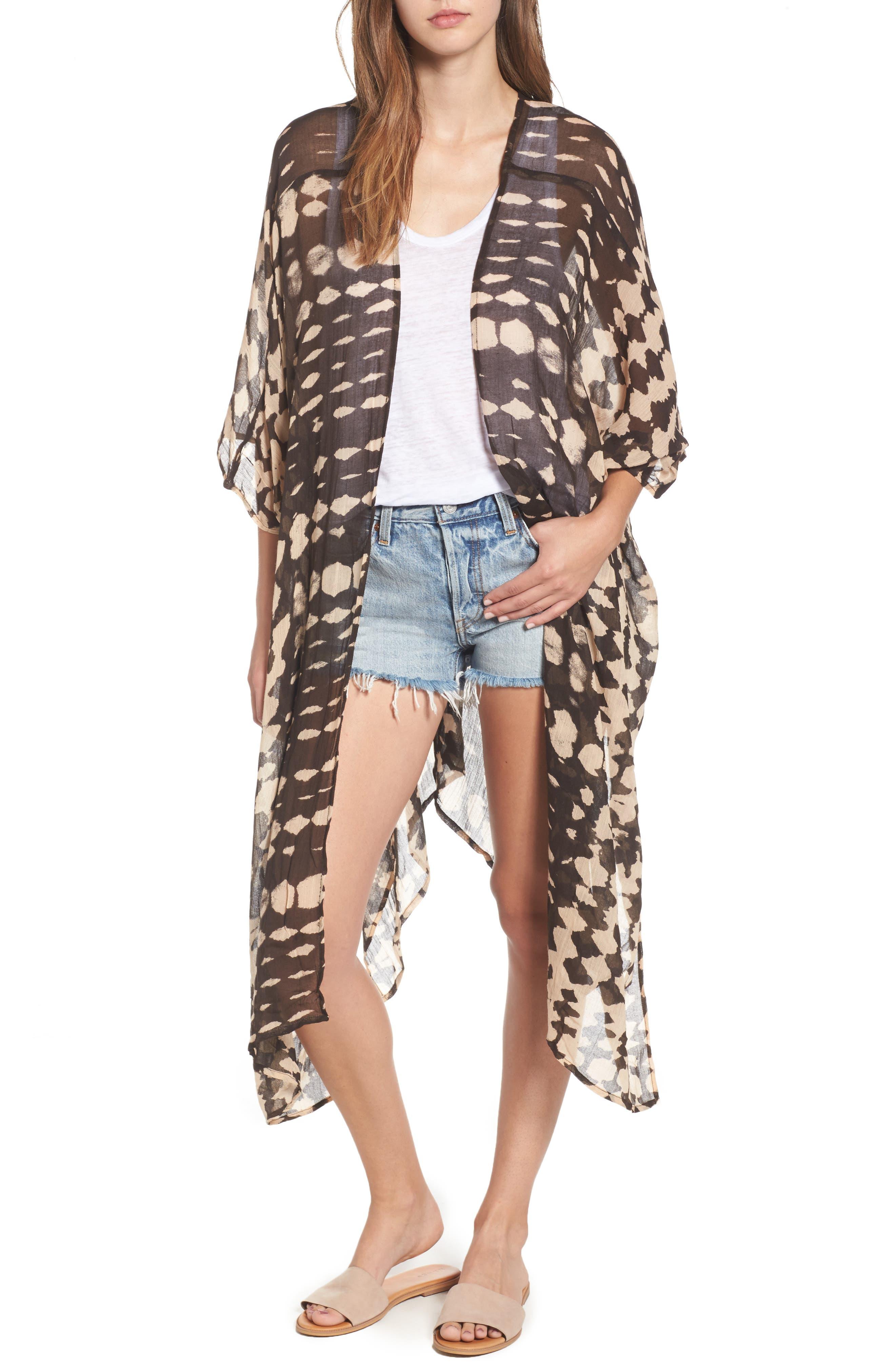 Sole Society Tie Dye Kimono
