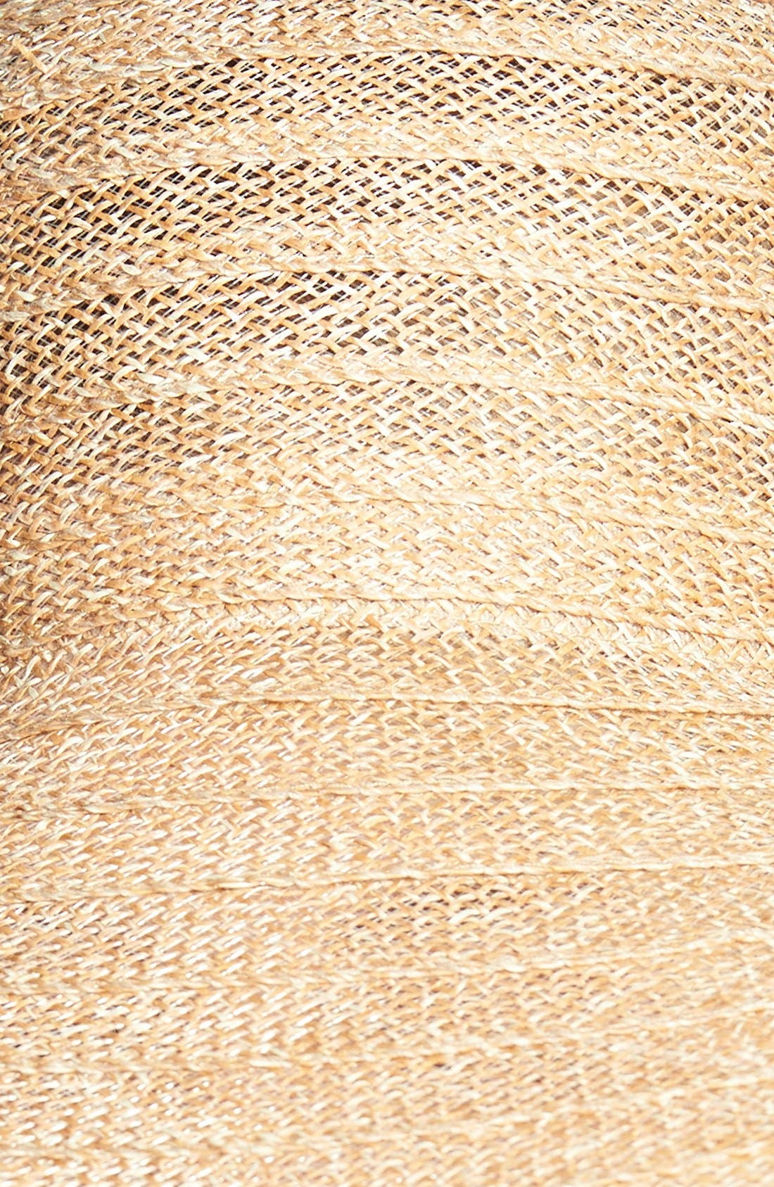 Alternate Image 2  - Nordstrom Ribbon Weave Sun Hat