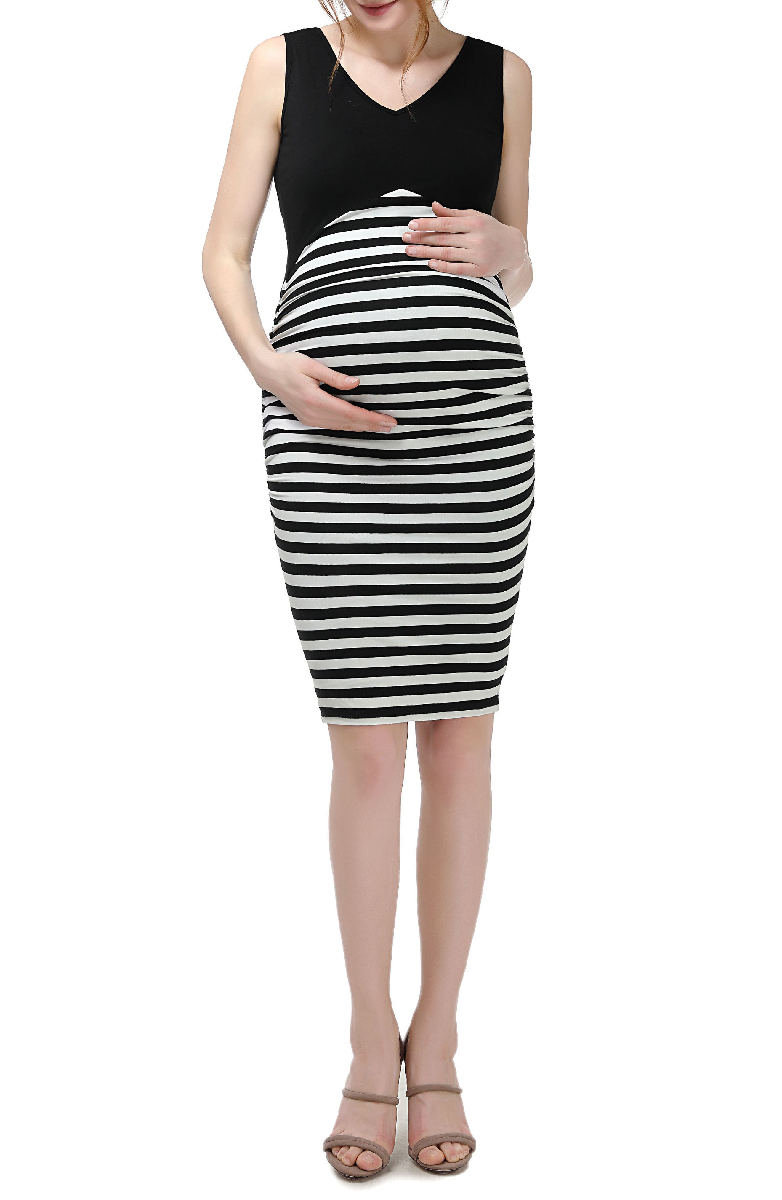 Kimi and Kai Rizza Maternity Body-Con Dress