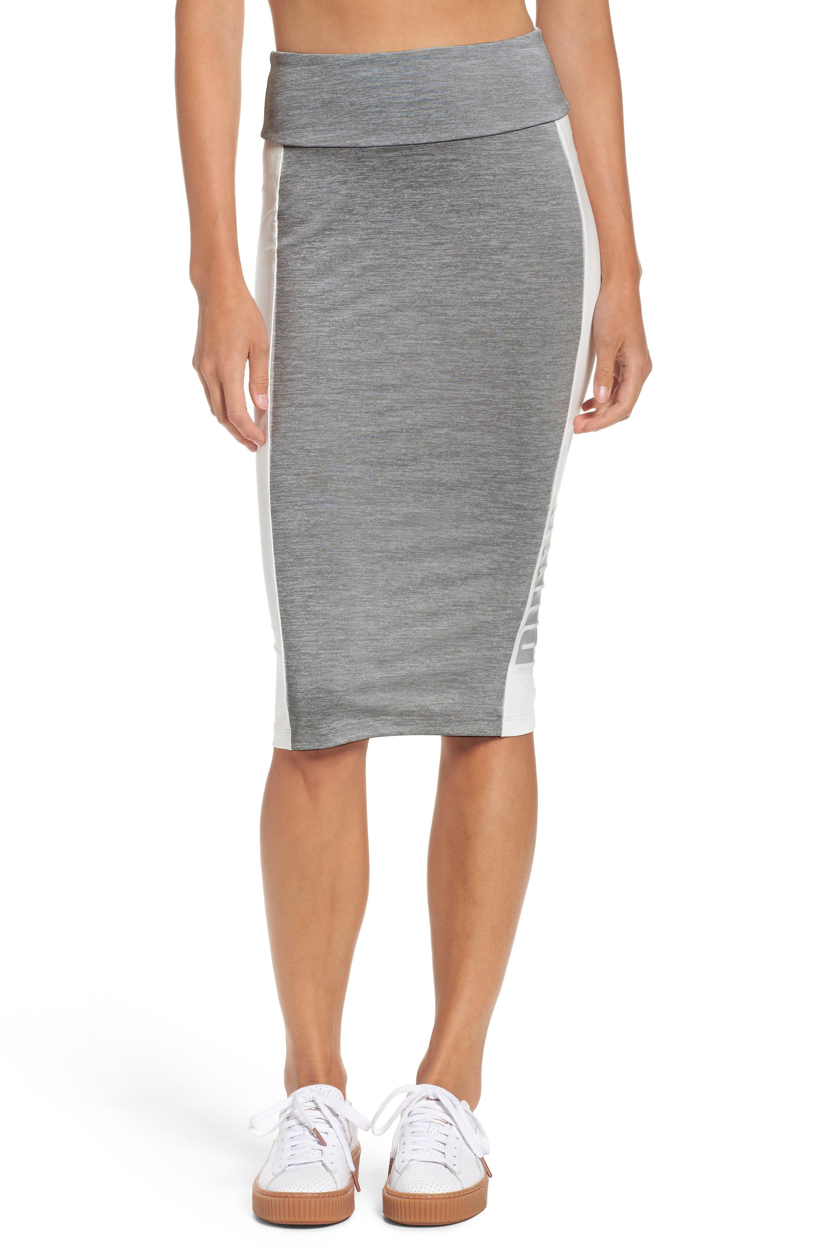 PUMA Archive Logo Pencil Skirt