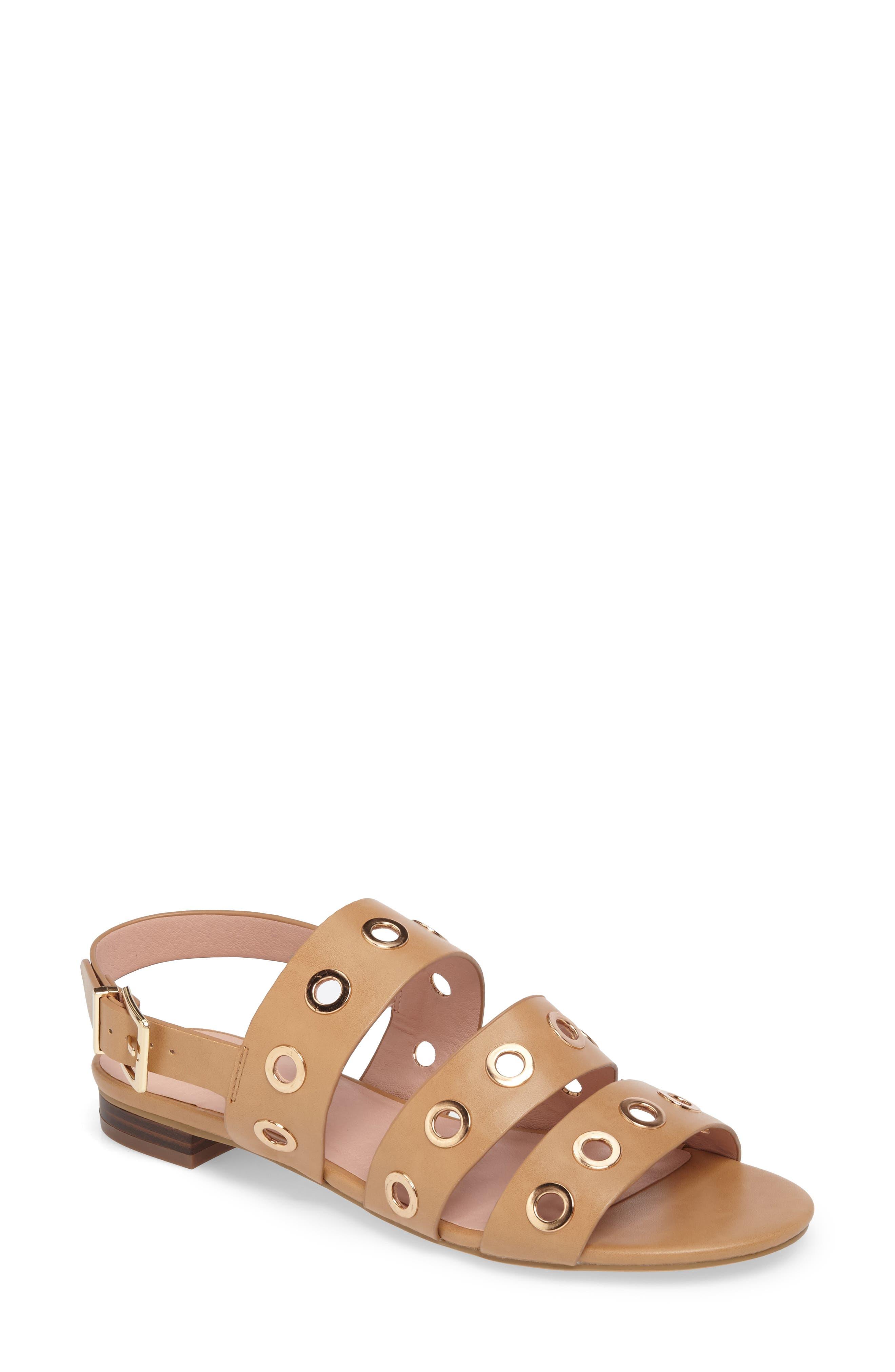 Topshop Honeymoon Grommet Sandals (Women)