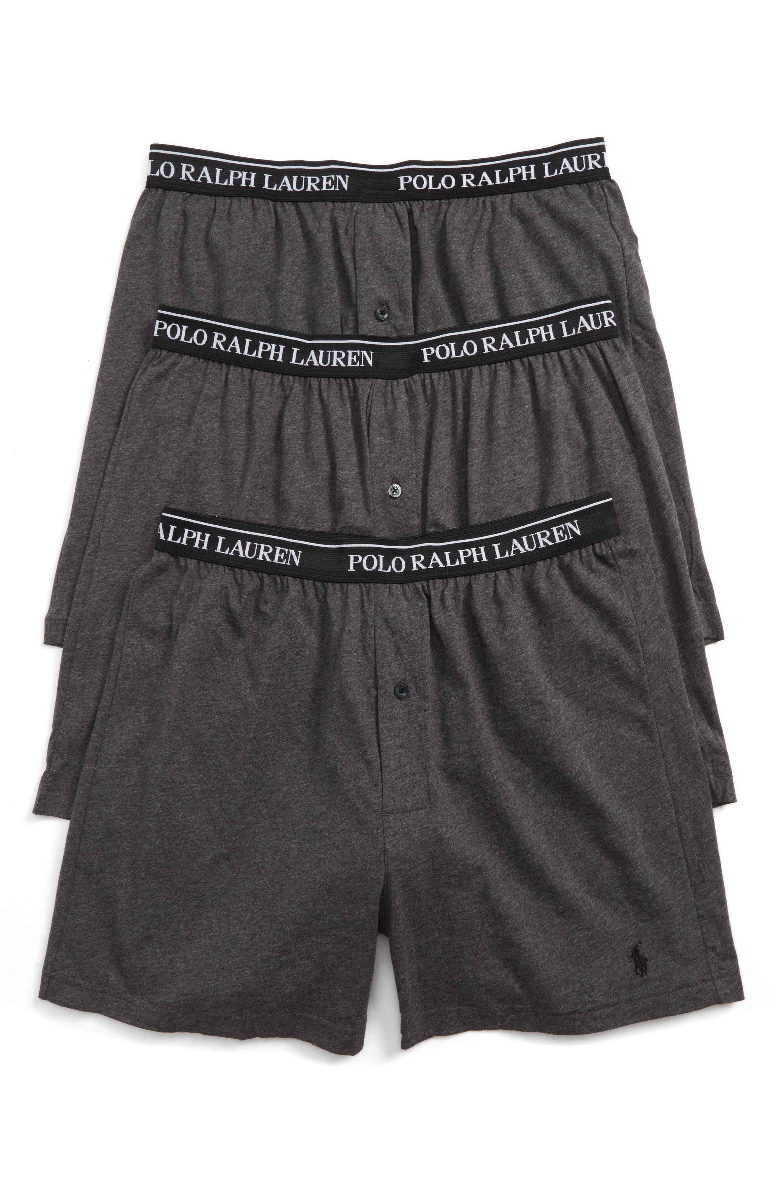 Polo Ralph Lauren 3-Pack Knit Boxers