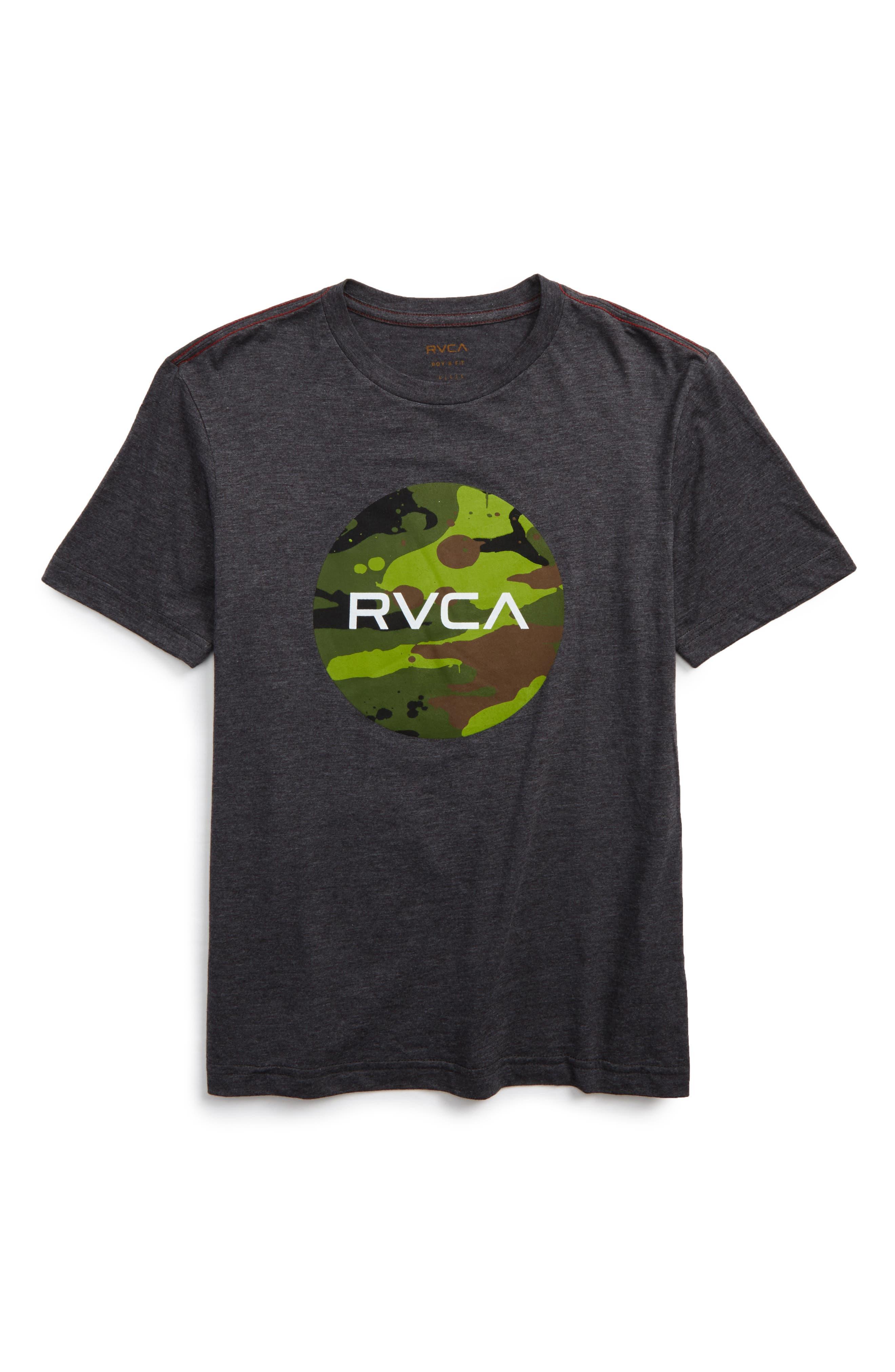 RVCA Stash Motors Graphic T-Shirt (Big Boys)