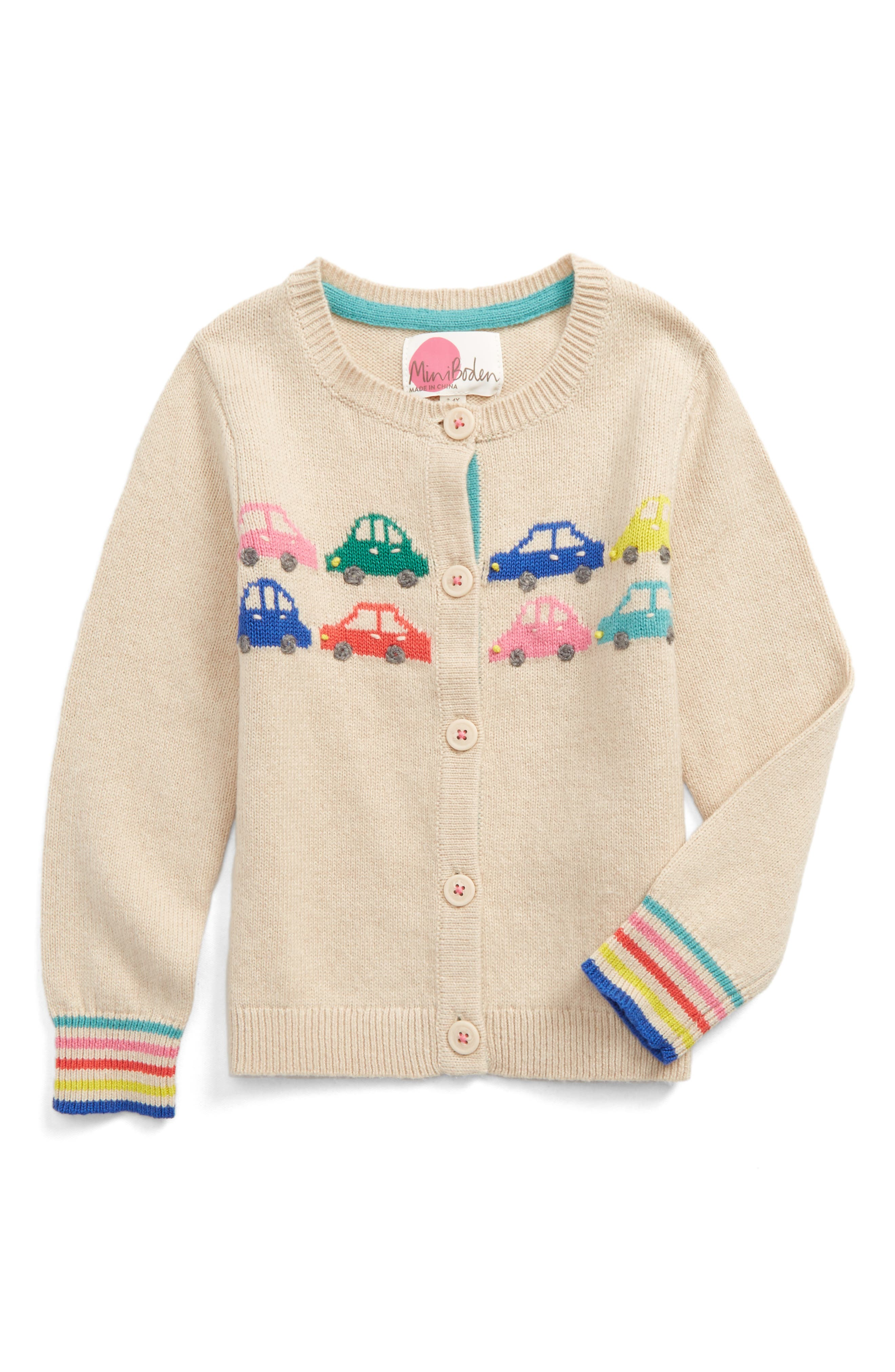 Mini Boden Fun Cardigan (Toddler Girls, Little Girls & Big Girls)
