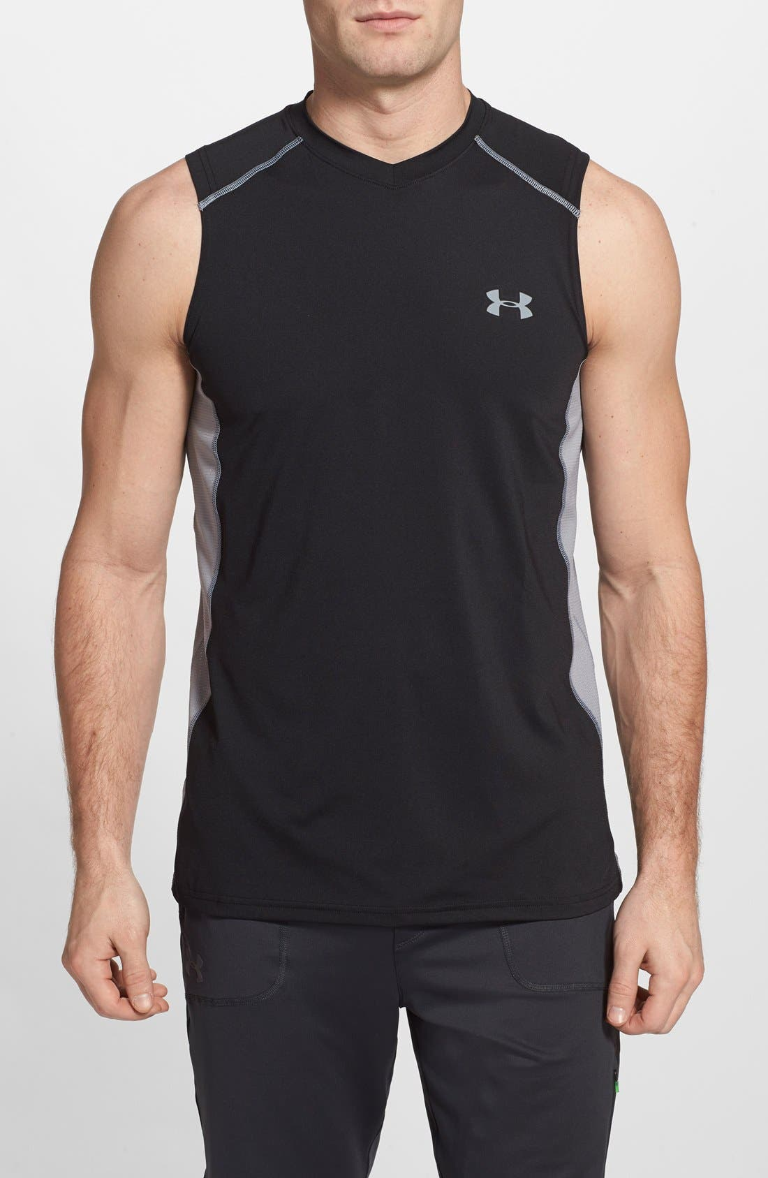 UNDER ARMOUR 'Raid' HeatGear® Fitted Tank Top