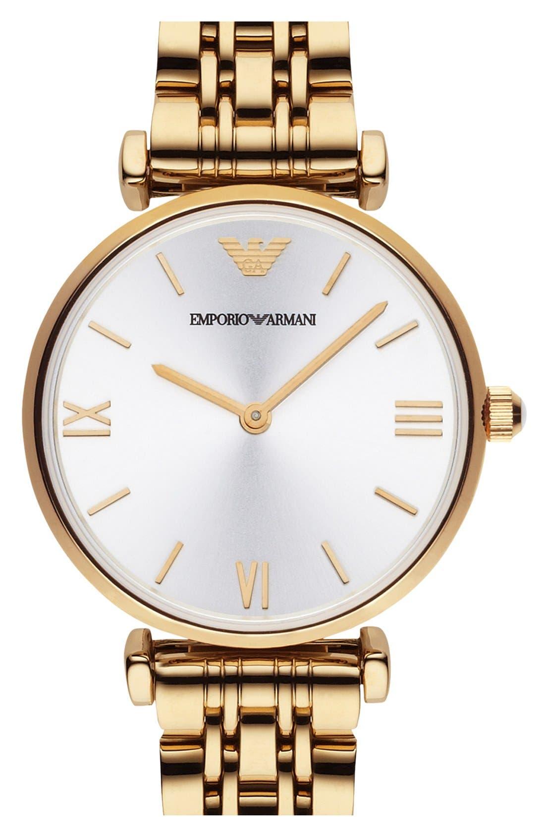 Alternate Image 1 Selected - Emporio Armani Round Watch, 32mm