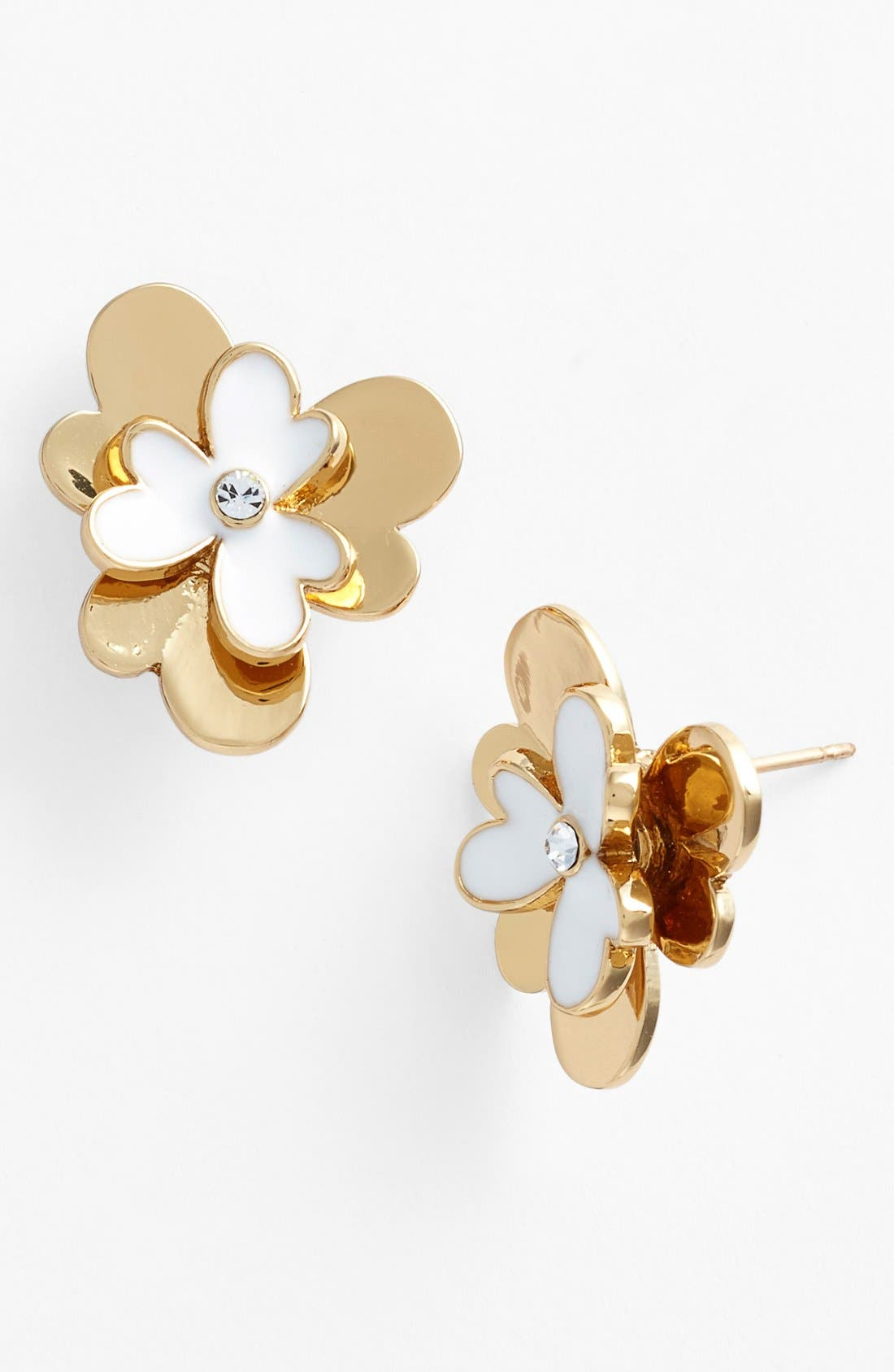 Main Image - kate spade new york 'pansy blossoms' stud earrings
