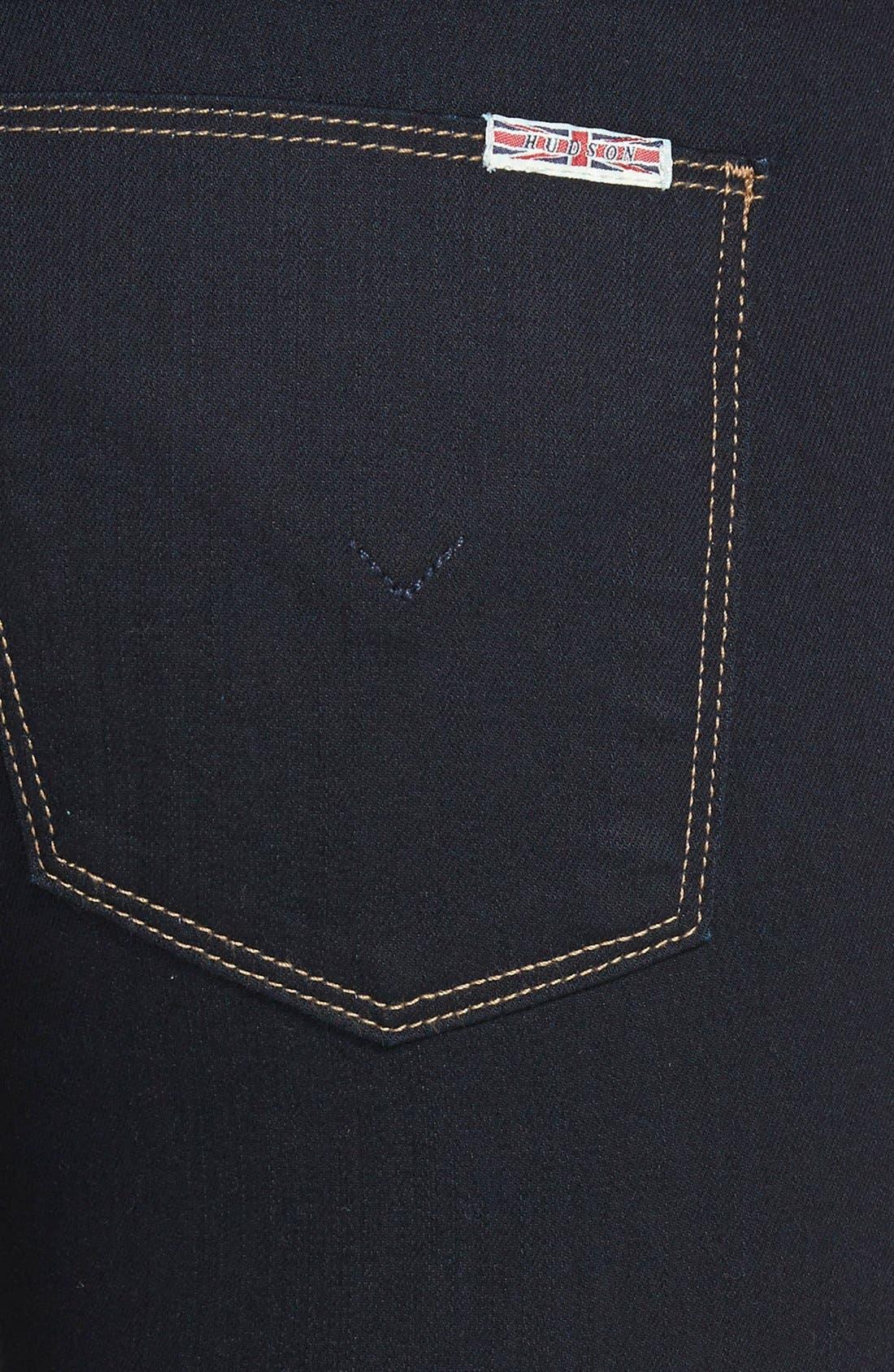 Alternate Image 3  - Hudson Jeans 'Tilda' Mid Rise Straight Leg Jeans (Storm)