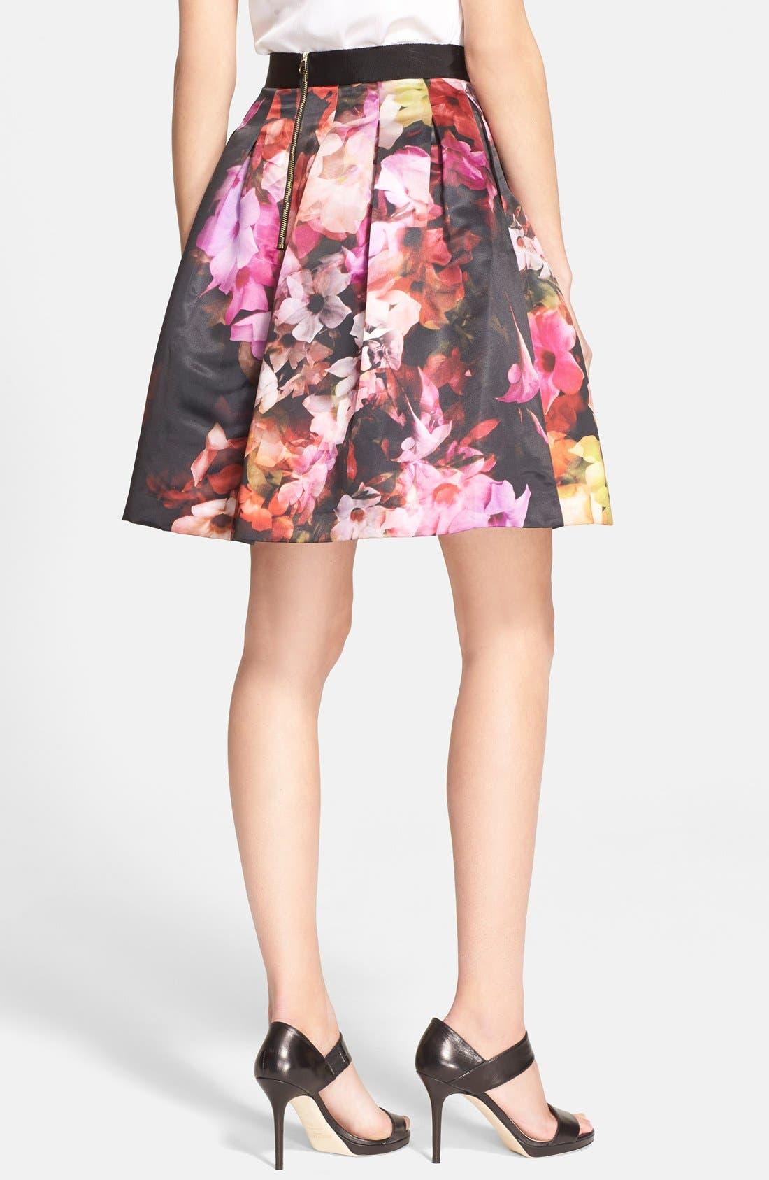 Alternate Image 2  - Ted Baker London 'Abaigh' Floral Print Skirt