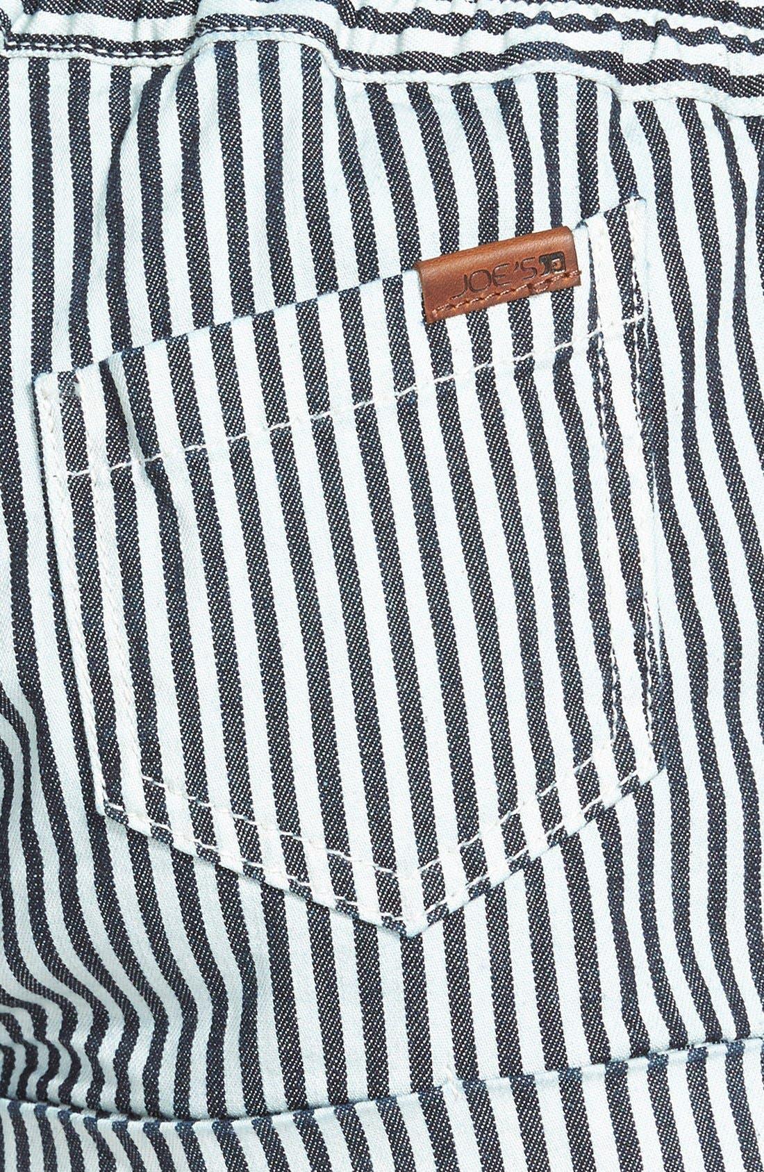 Alternate Image 3  - Joe's 'Lennox' Drawstring Stripe Shorts (Vivie)