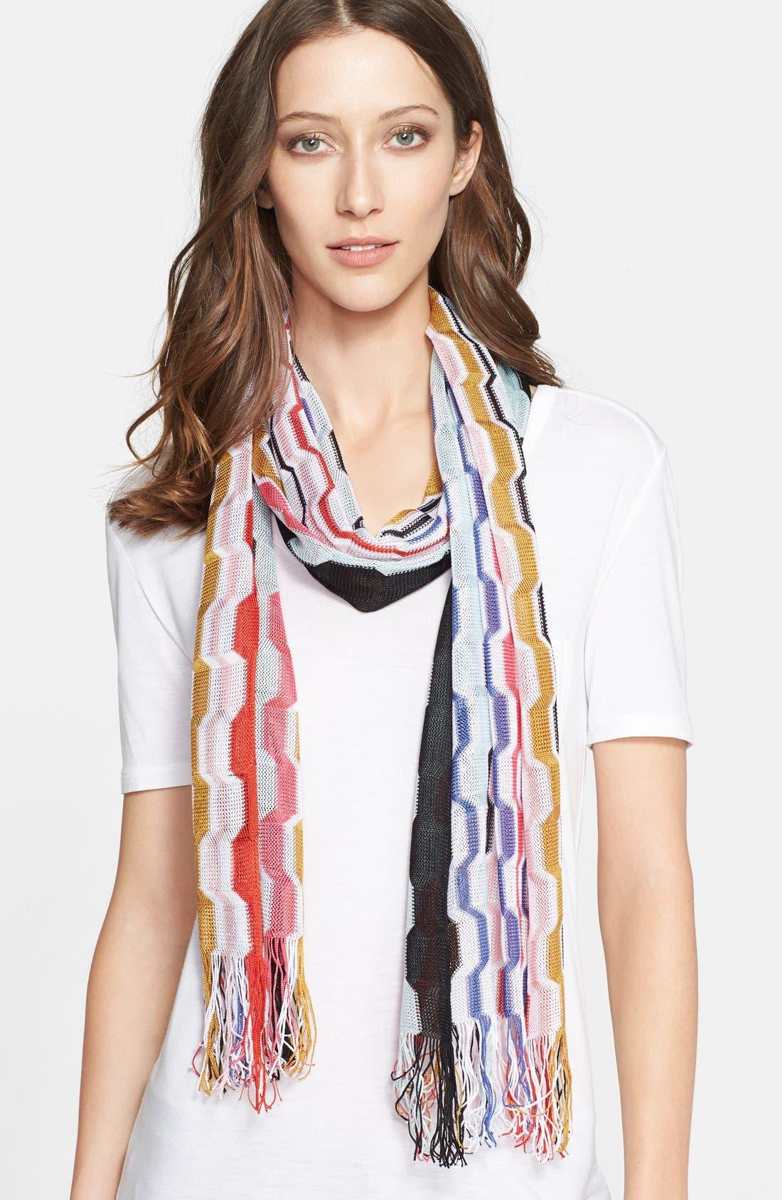 Alternate Image 1 Selected - Missoni Stripe Scarf
