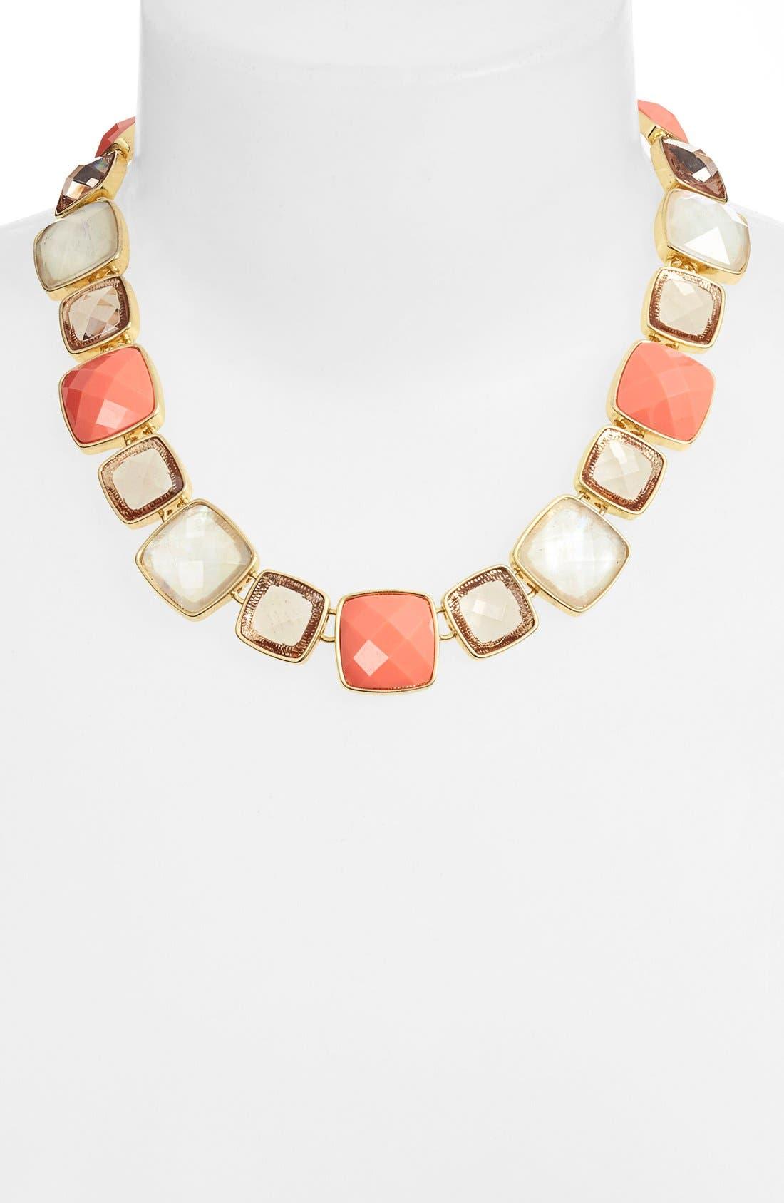 Alternate Image 2  - Anne Klein Collar Necklace