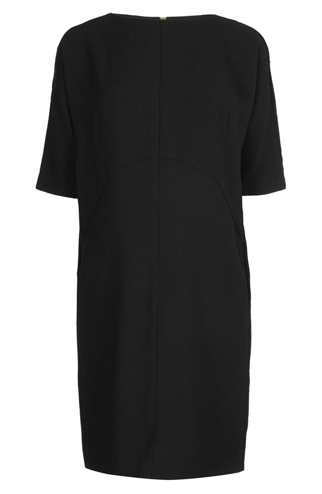 Alternate Image 4  - Topshop Oversize Maternity Shift Dress