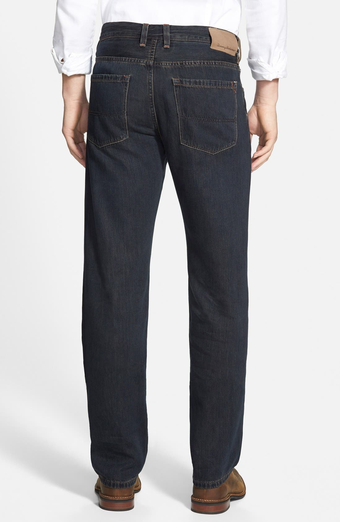 Alternate Image 3  - Tommy Bahama Denim 'Coastal Island' Standard Fit Jeans (Black Overdye)