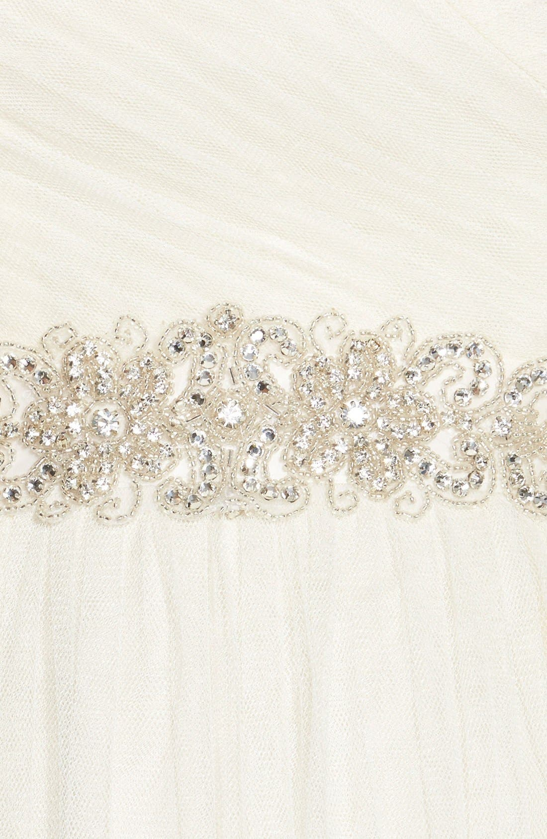 Alternate Image 3  - Nina Ornate 'Cassidy' Ornate Crystal Beaded Sash