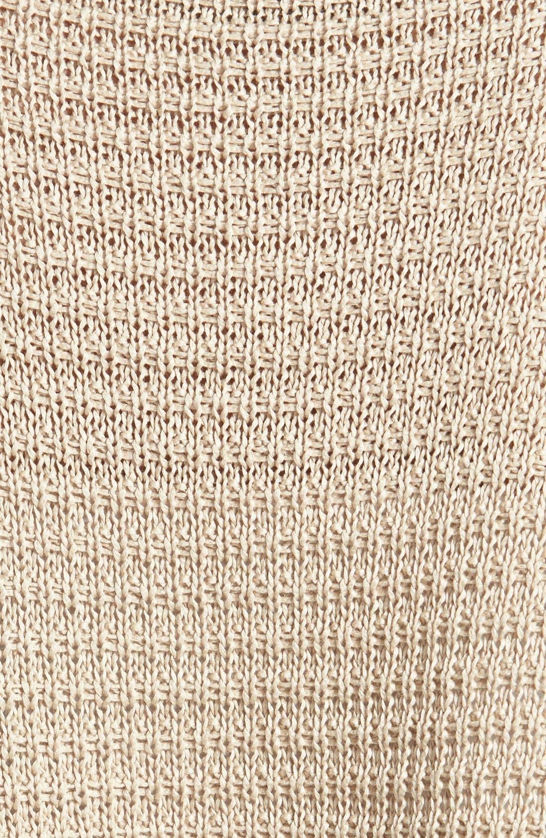 Alternate Image 3  - Weekend Max Mara 'Sapone' Crop Cotton Sweater