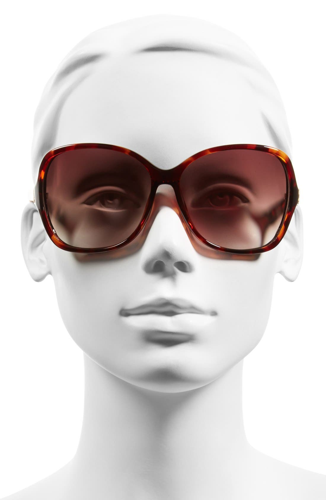 Alternate Image 2  - Vince Camuto 62mm Vented Lens Rectangle Sunglasses