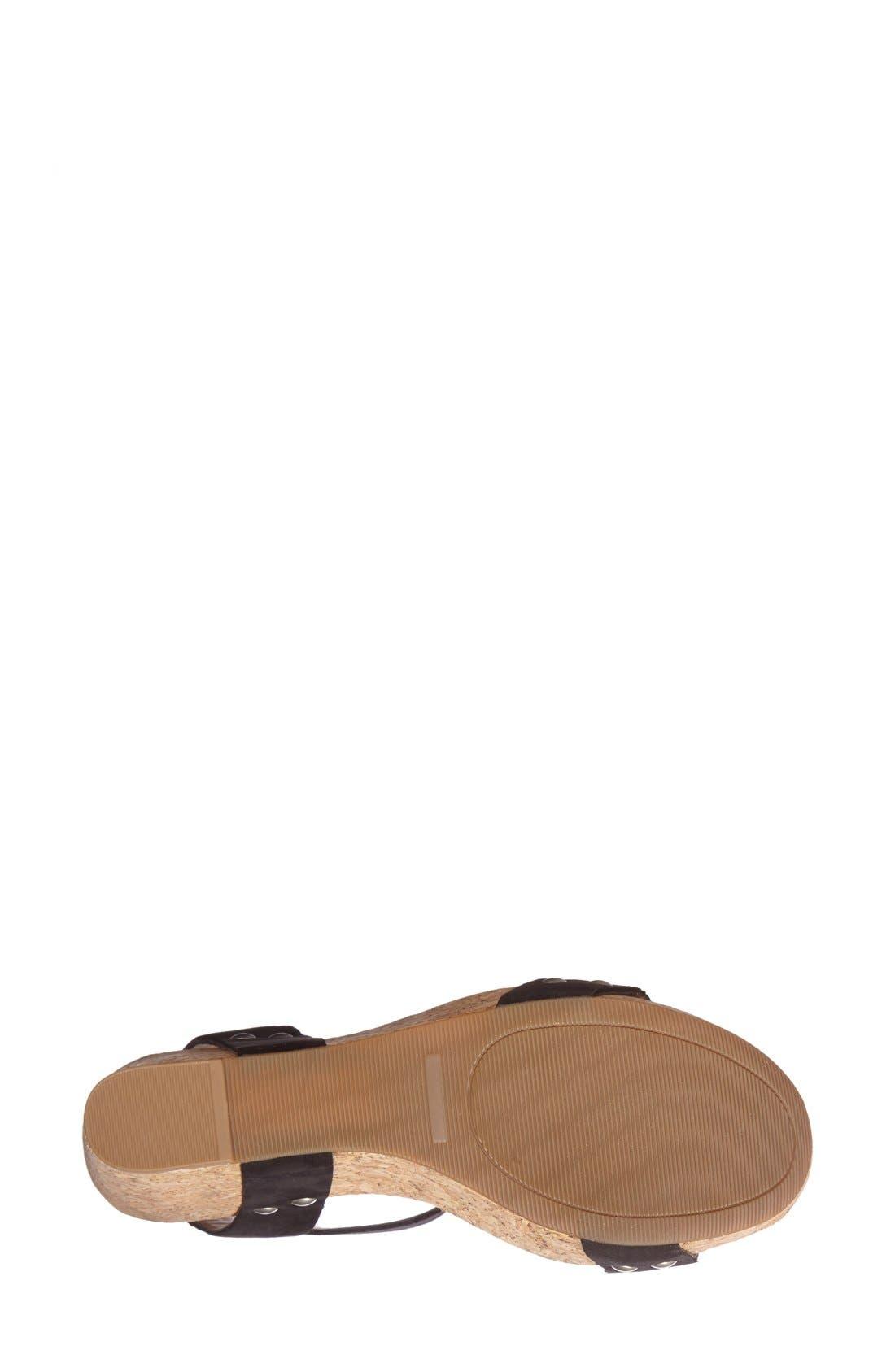 Alternate Image 4  - Lucky Brand 'McDowell' Wedge Sandal (Women)