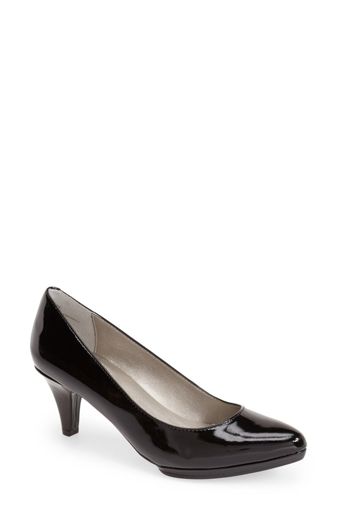 Alternate Image 1 Selected - Me Too 'Andrea' Patent Leather Pump (Women)