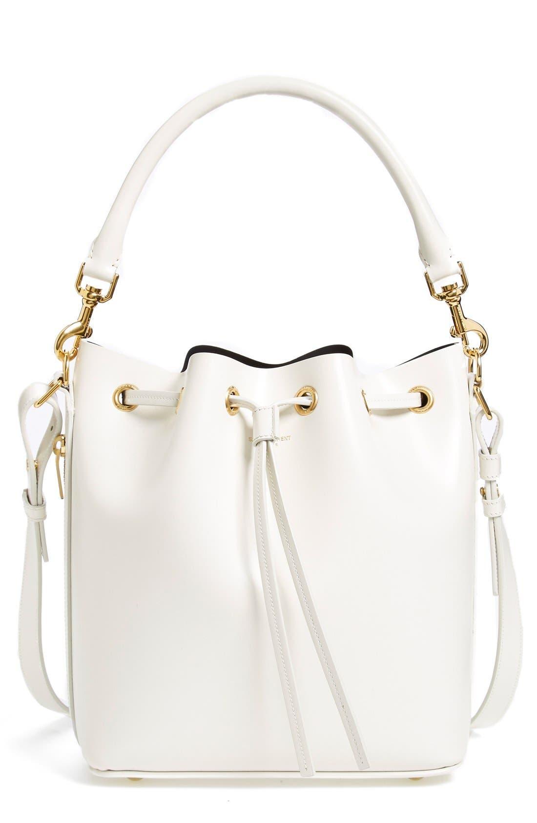 Main Image - Saint Laurent Leather Bucket Bag