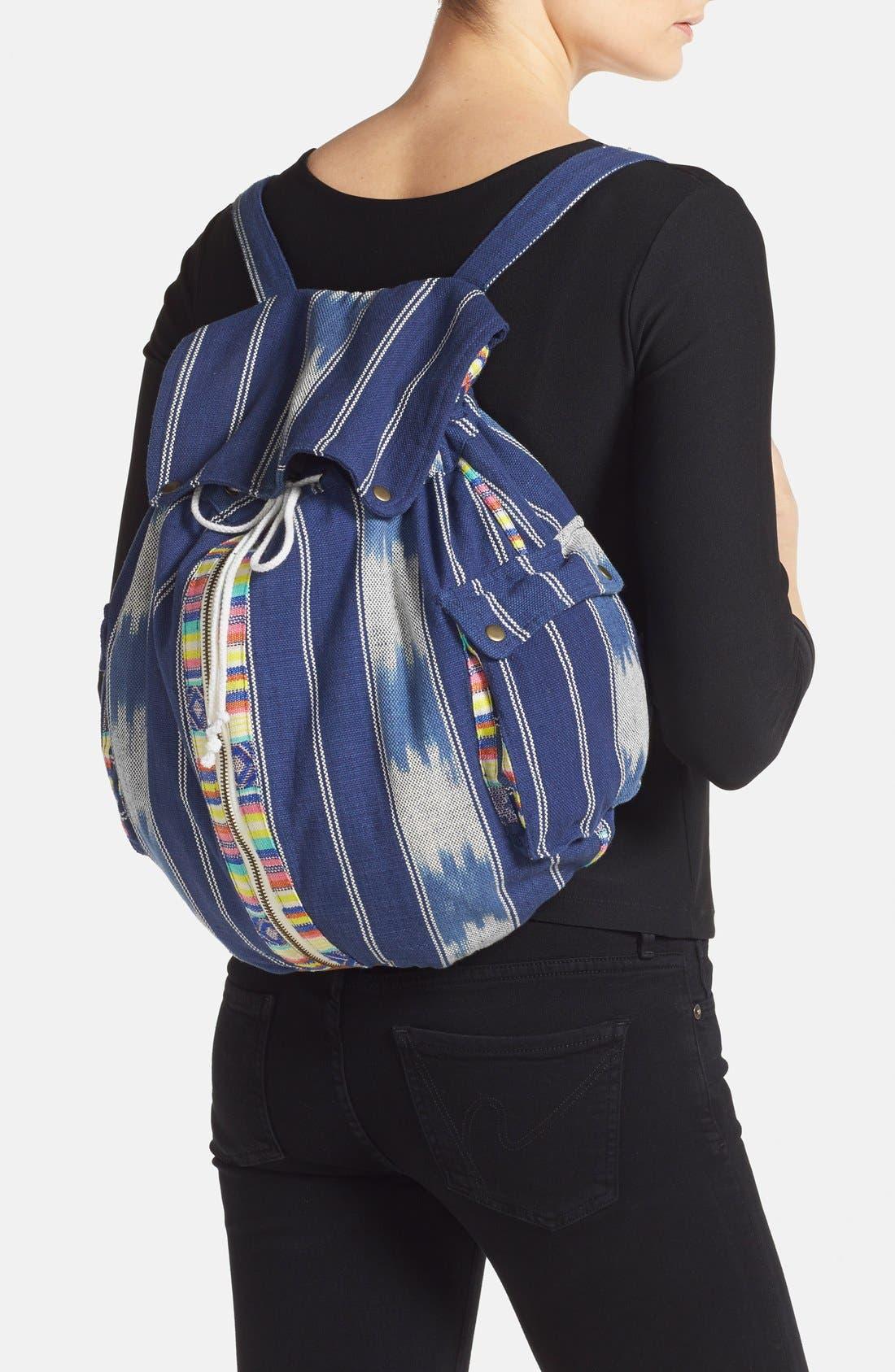 Alternate Image 2  - Billabong 'Indian Surf' Woven Backpack