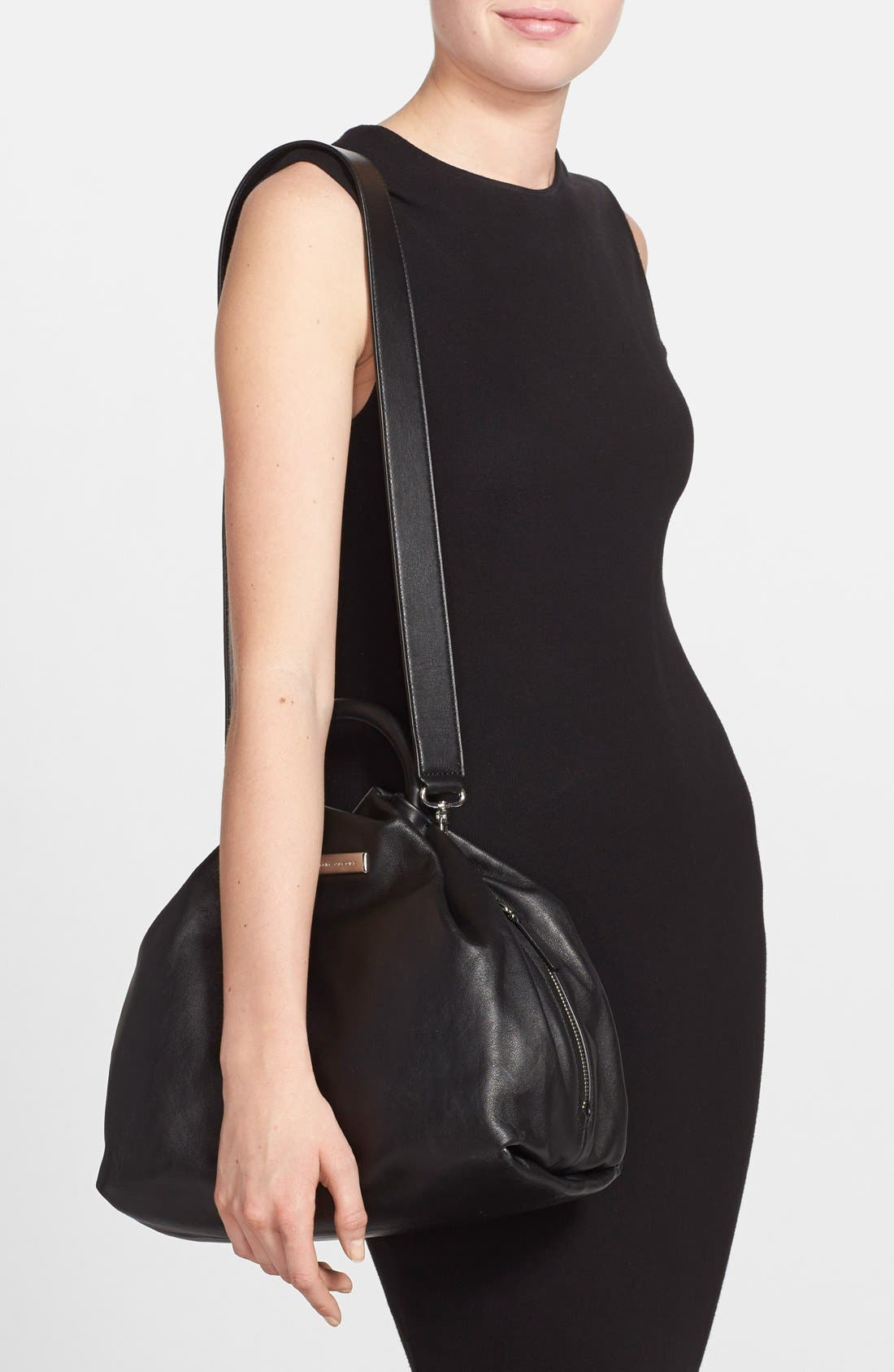 Alternate Image 2  - MARC BY MARC JACOBS 'Hanging Around' Leather Ring Tote