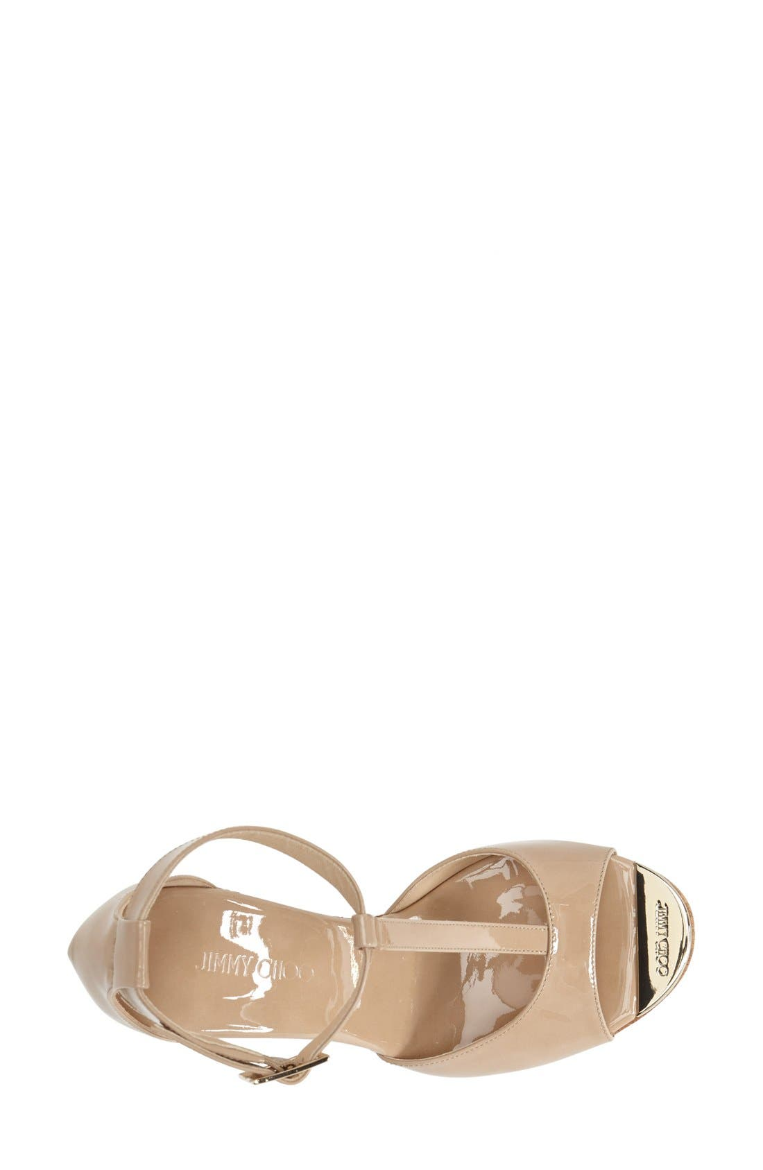 Alternate Image 3  - Jimmy Choo 'Pela' Cork Wedge Sandal (Women)