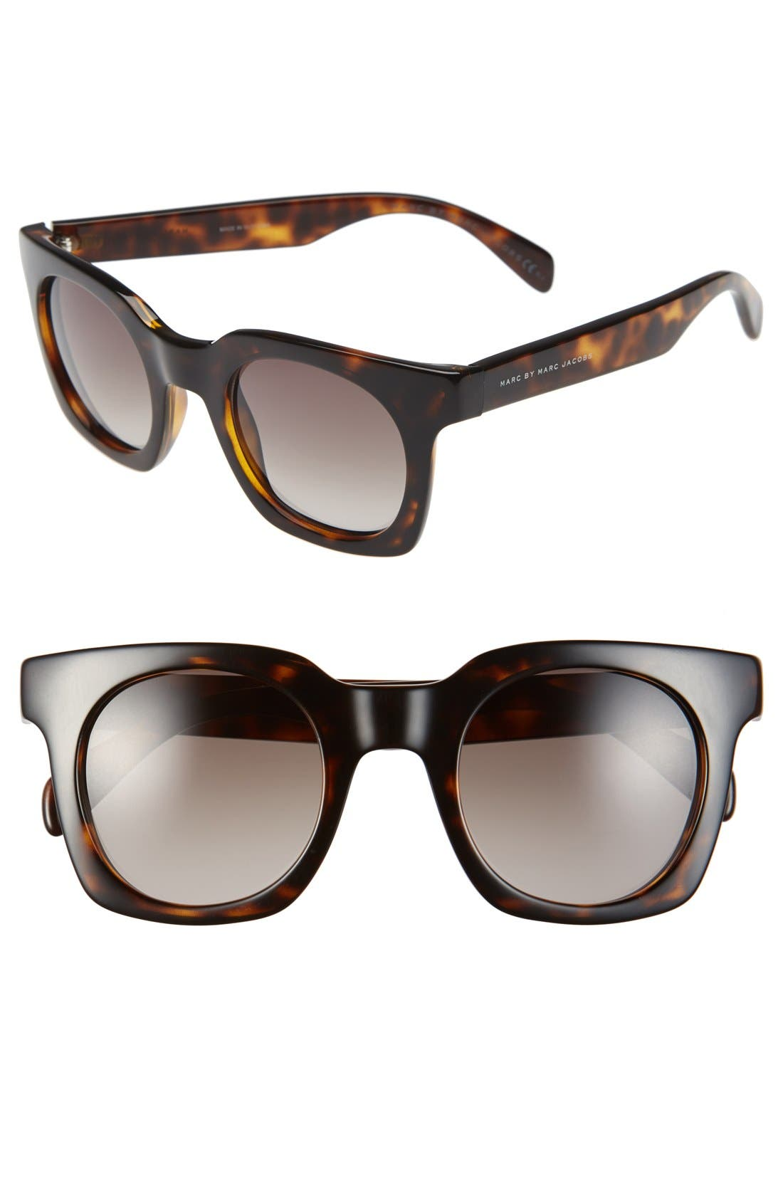Main Image - MARC BY MARC JACOBS 47mm Retro Sunglasses