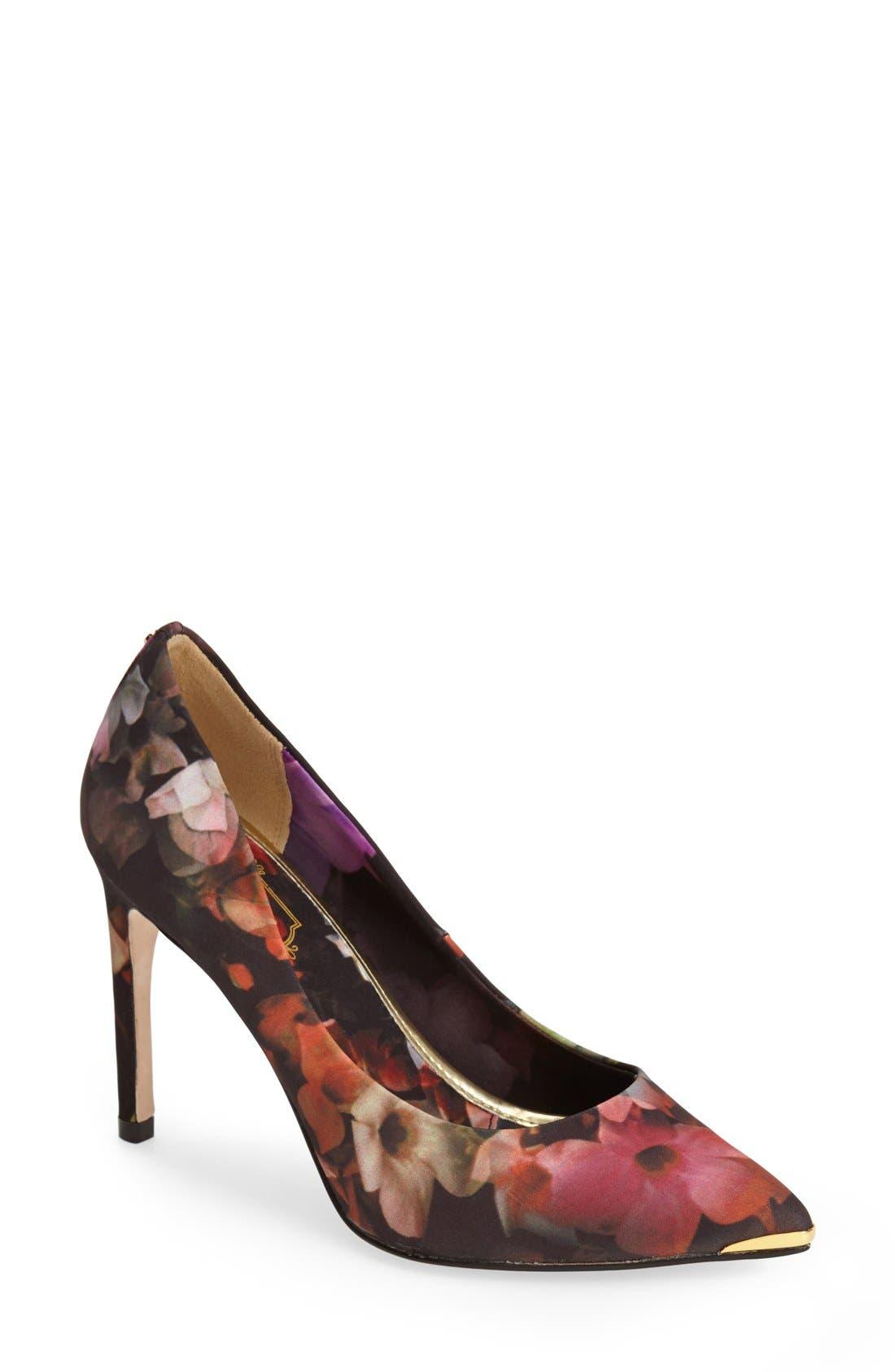 Alternate Image 1 Selected - Ted Baker London 'Neevol' Pointy Toe Pump (Women)
