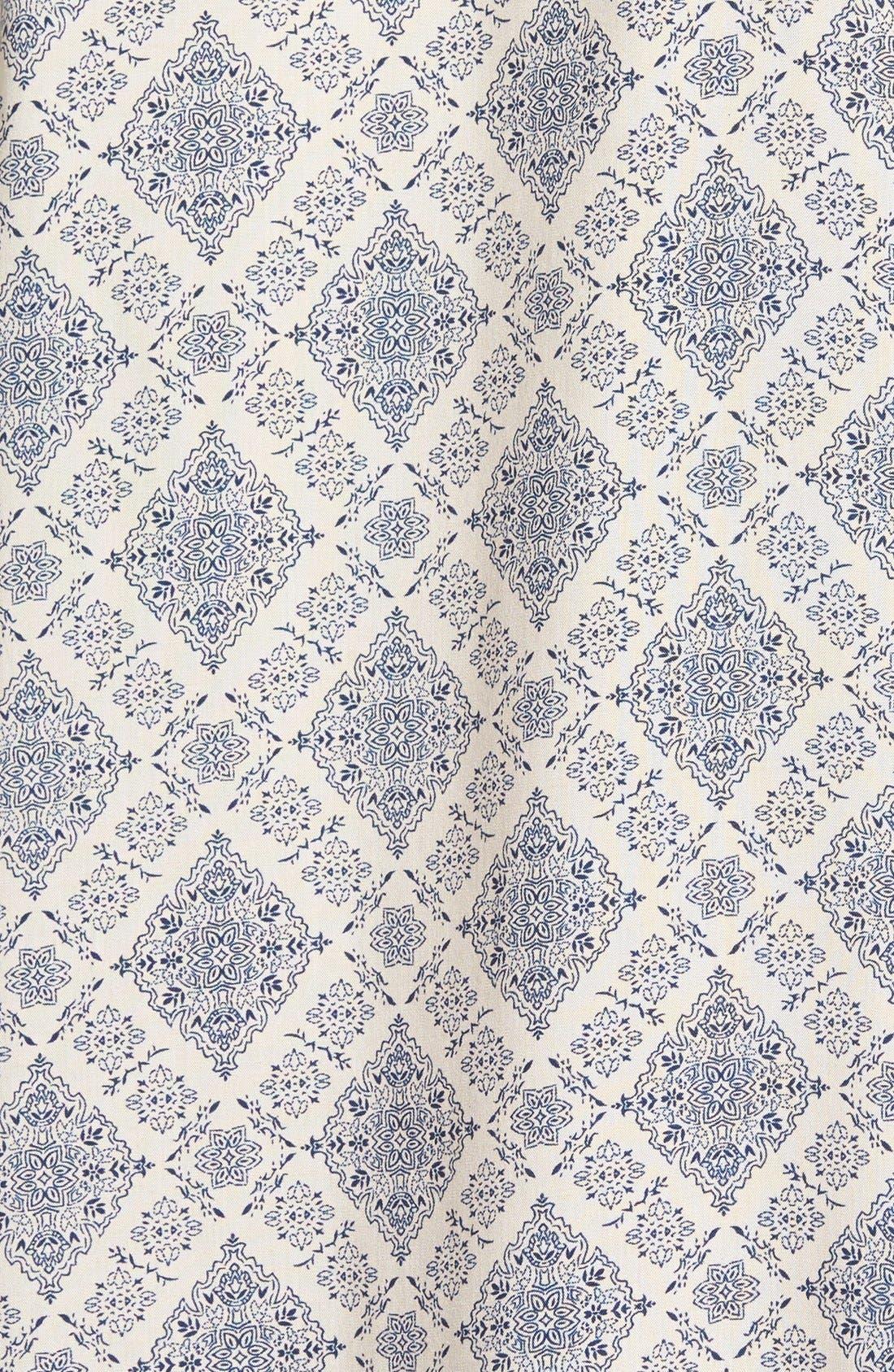 Alternate Image 3  - Elodie Crochet Inset Peasant Top (Juniors)