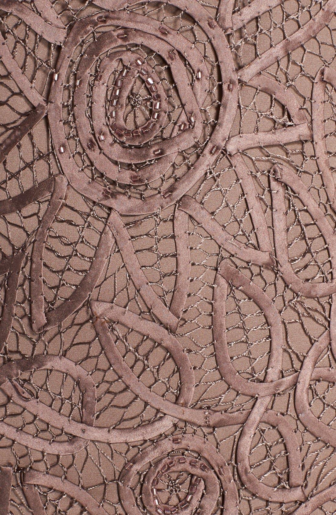 Alternate Image 4  - Soulmates Crochet Silk Dress & Jacket
