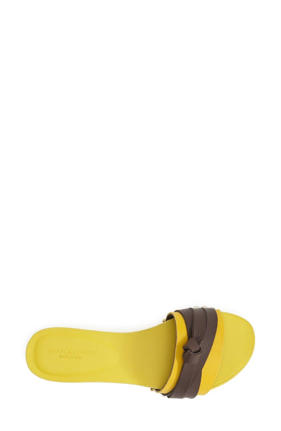Alternate Image 3  - Charles David 'Becket' Slide Sandal (Women)