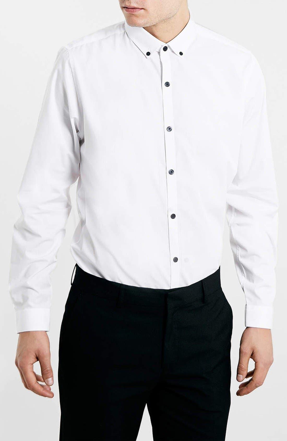 Main Image - Topman Slim Fit Dress Shirt