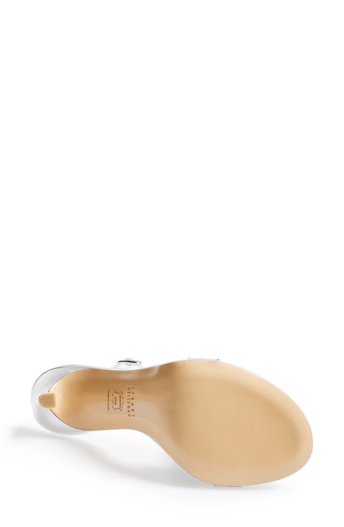 Alternate Image 2  - Stuart Weitzman 'Bareitall' Translucent Strap Sandal (Women)