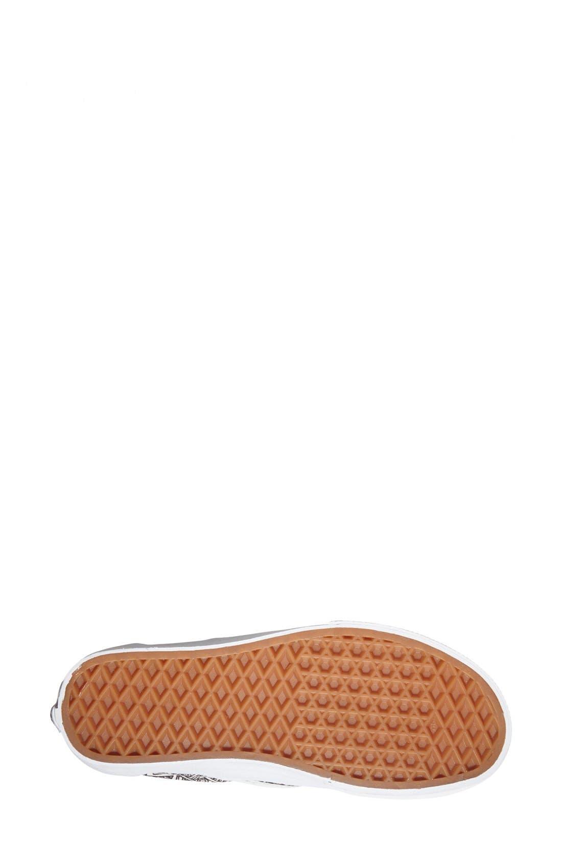 Alternate Image 4  - Vans 'Classic - Zio Ziegler' Slip-On Sneaker (Women)