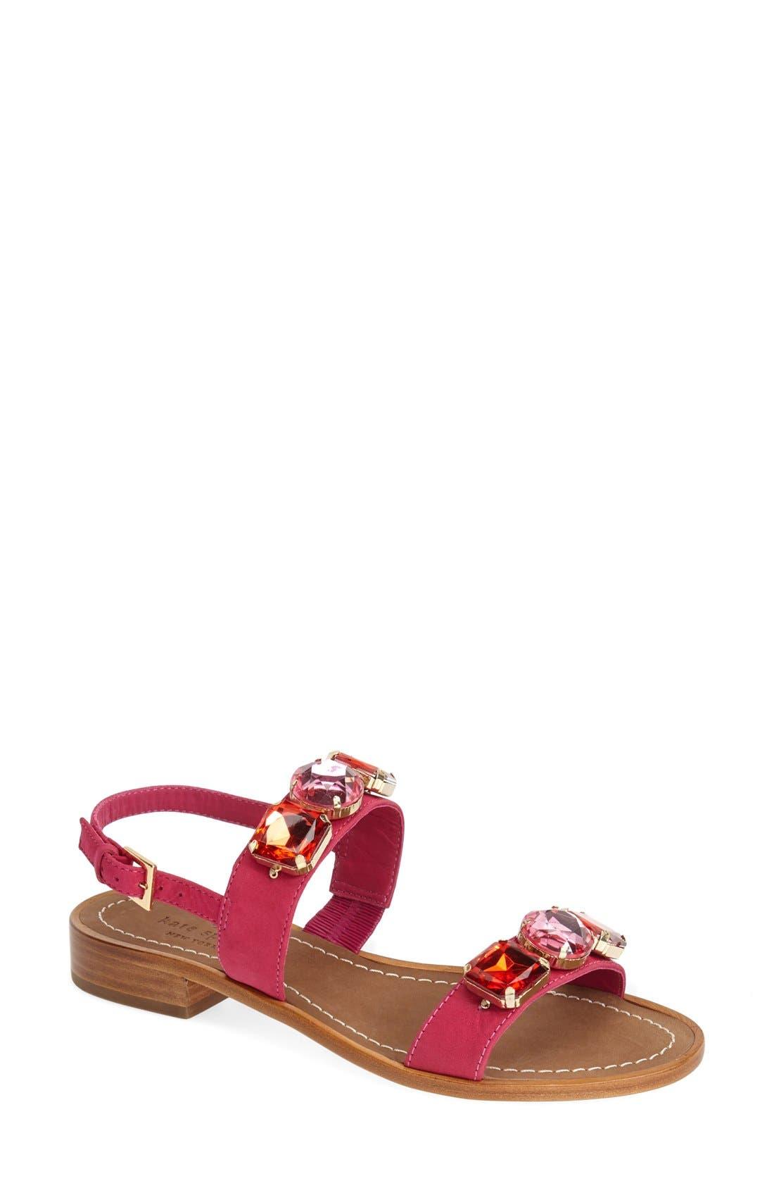 Main Image - kate spade new york 'bacau' ornate double band sandal (Women)