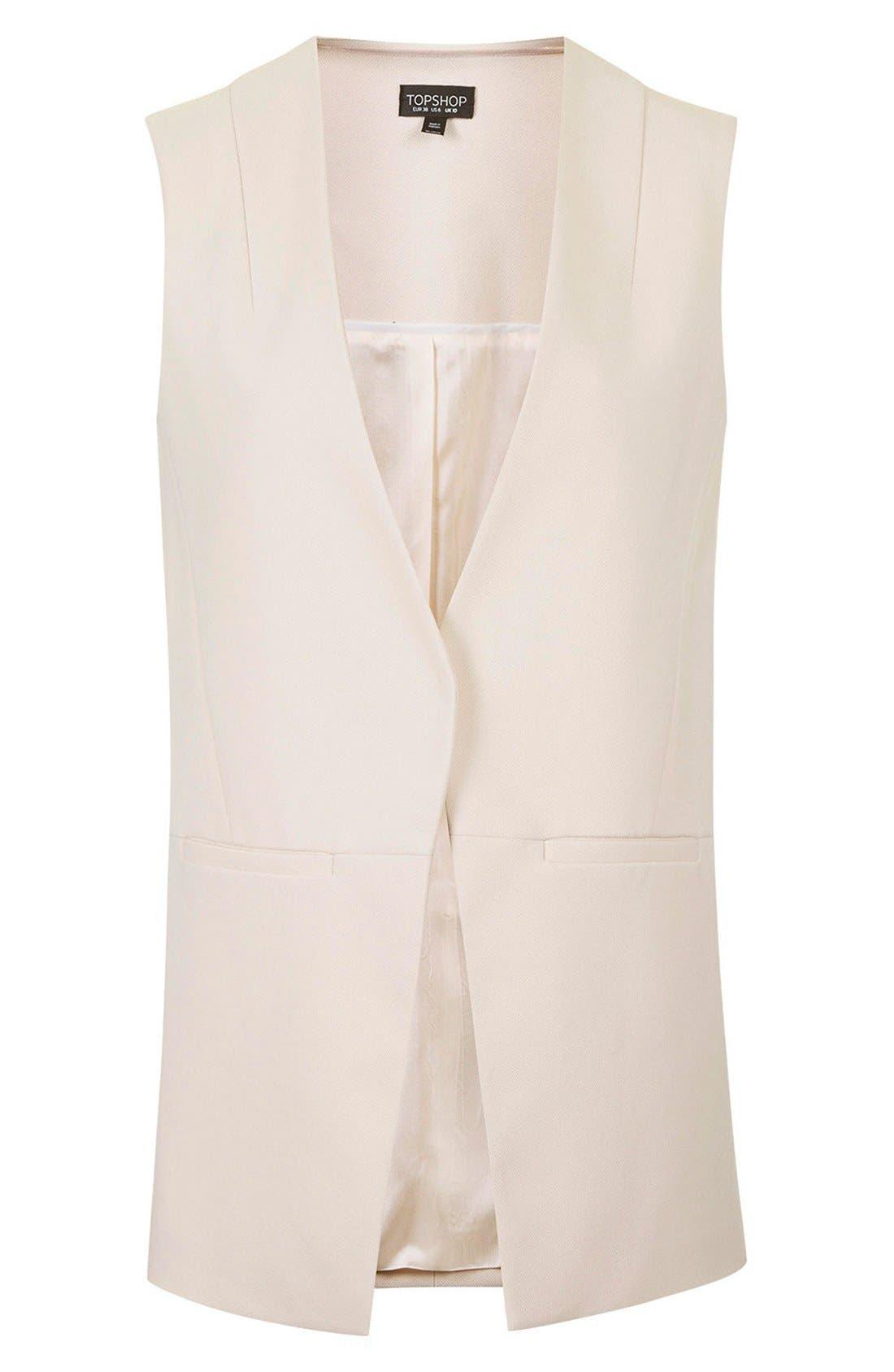 Alternate Image 4  - Topshop 'Molly' Longline Vest