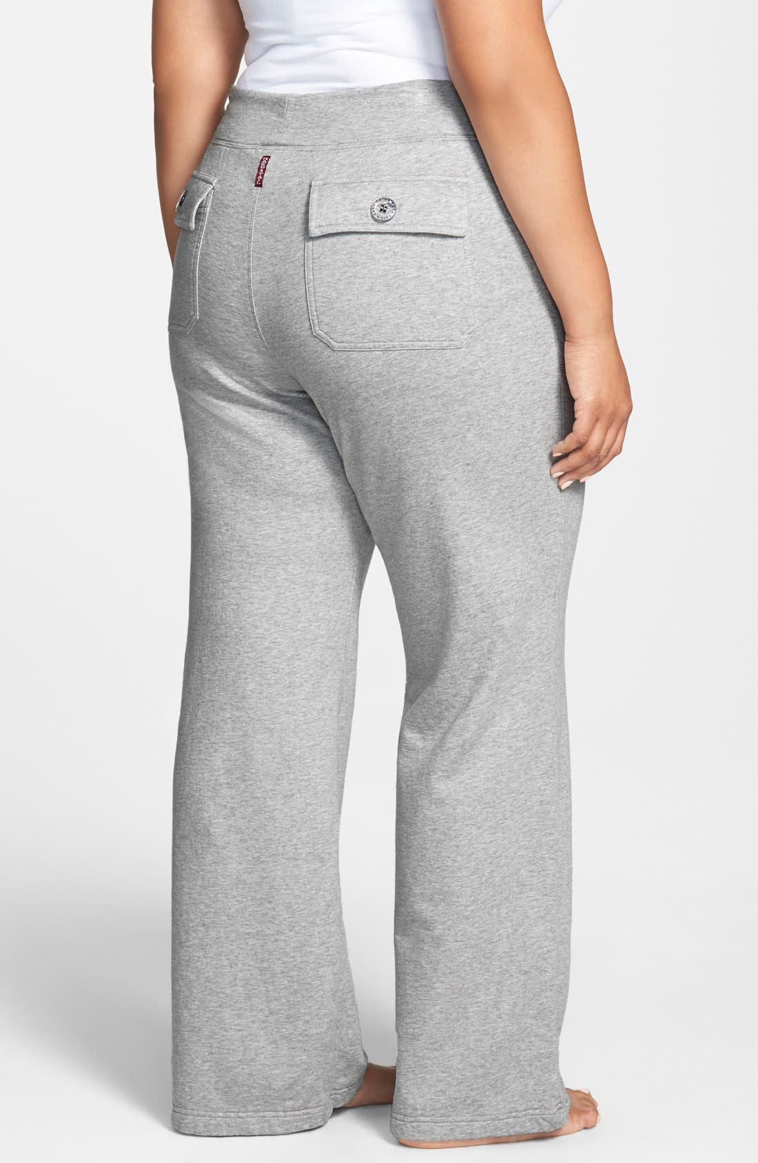 Alternate Image 2  - Hard Tail Slouchy Knit Cargo Pants (Plus Size)