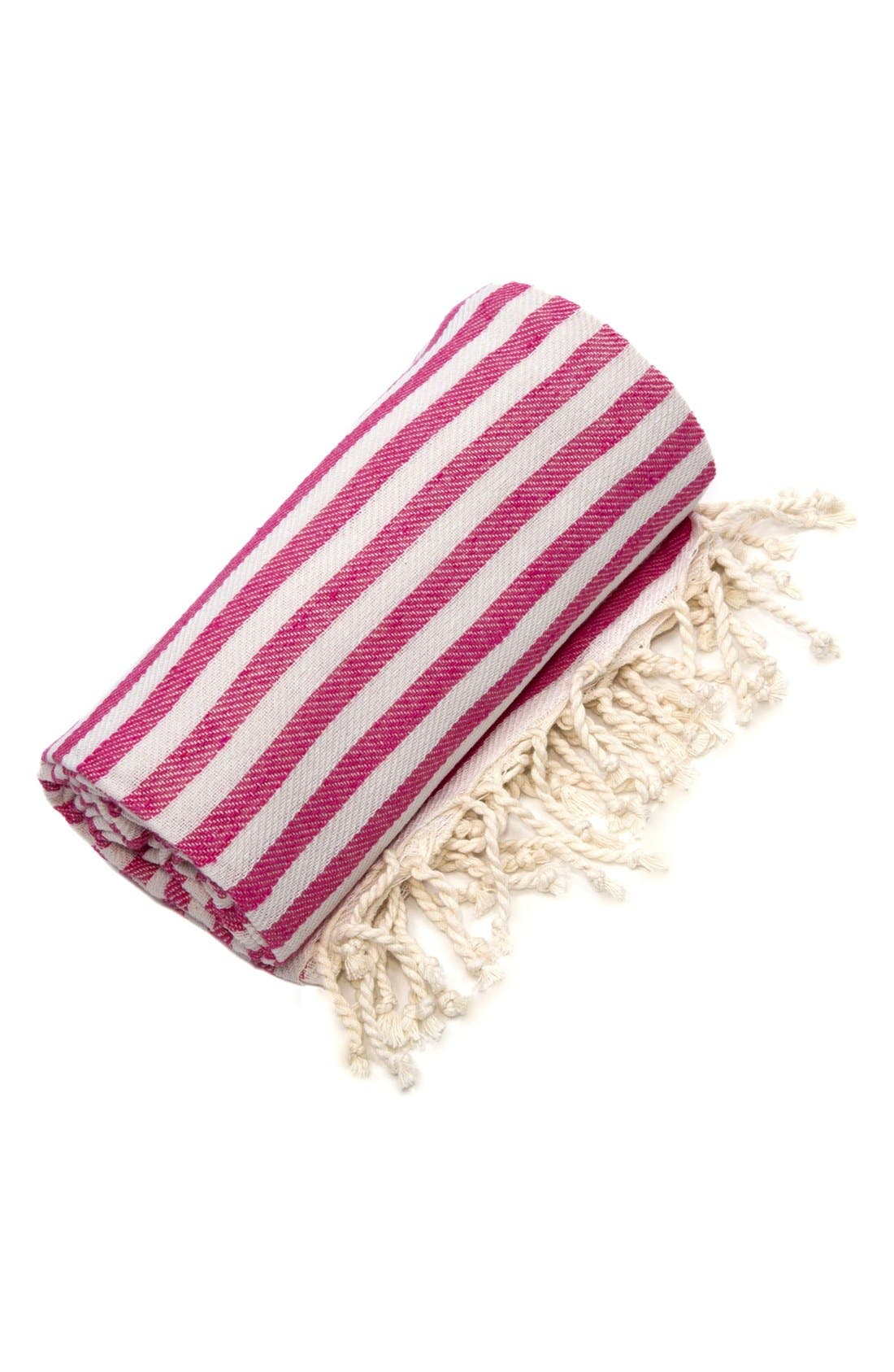 Alternate Image 2  - Linum Home Textiles 'Fun in the Sun' Turkish Pestemal Towel