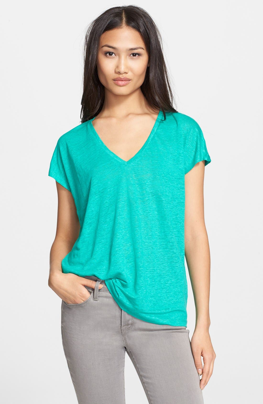 Alternate Image 1 Selected - Joie 'Chancey' Linen Top