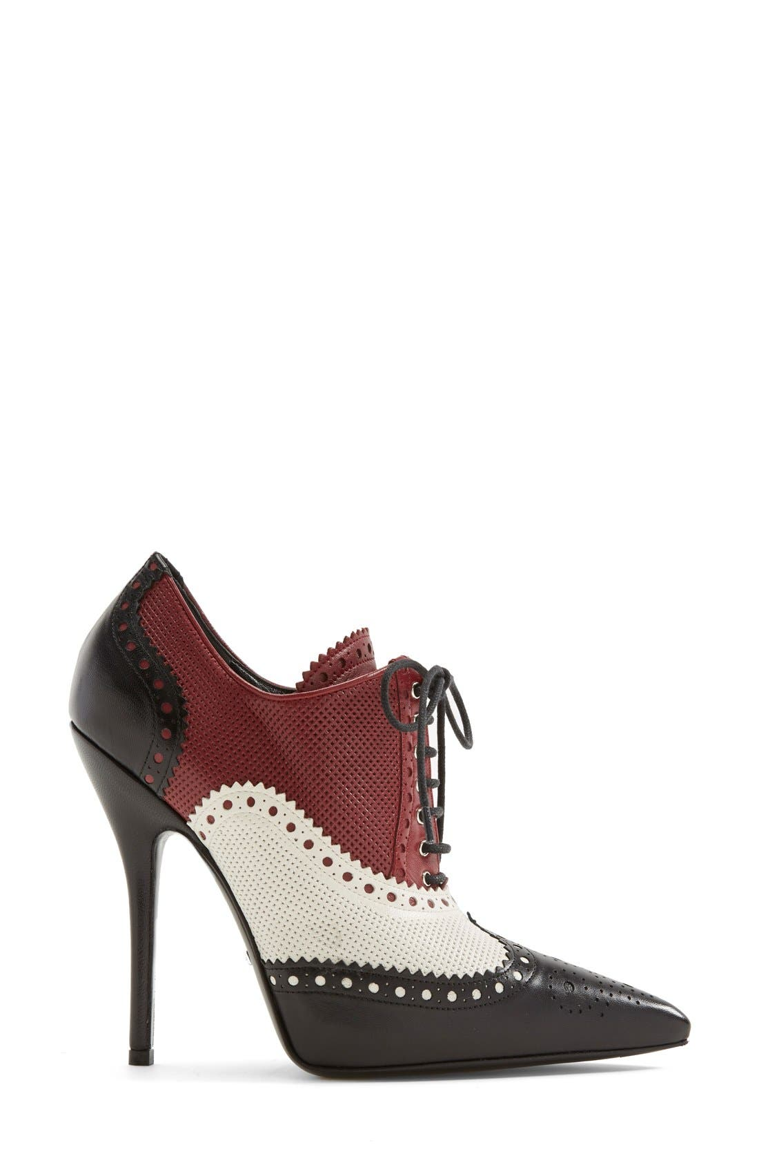 Alternate Image 4  - Gucci 'Gia' Pointy Toe Bootie (Women)