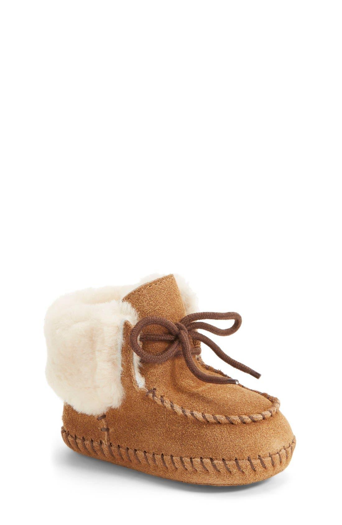 UGG® 'Sparrow' Boot (Baby & Walker)