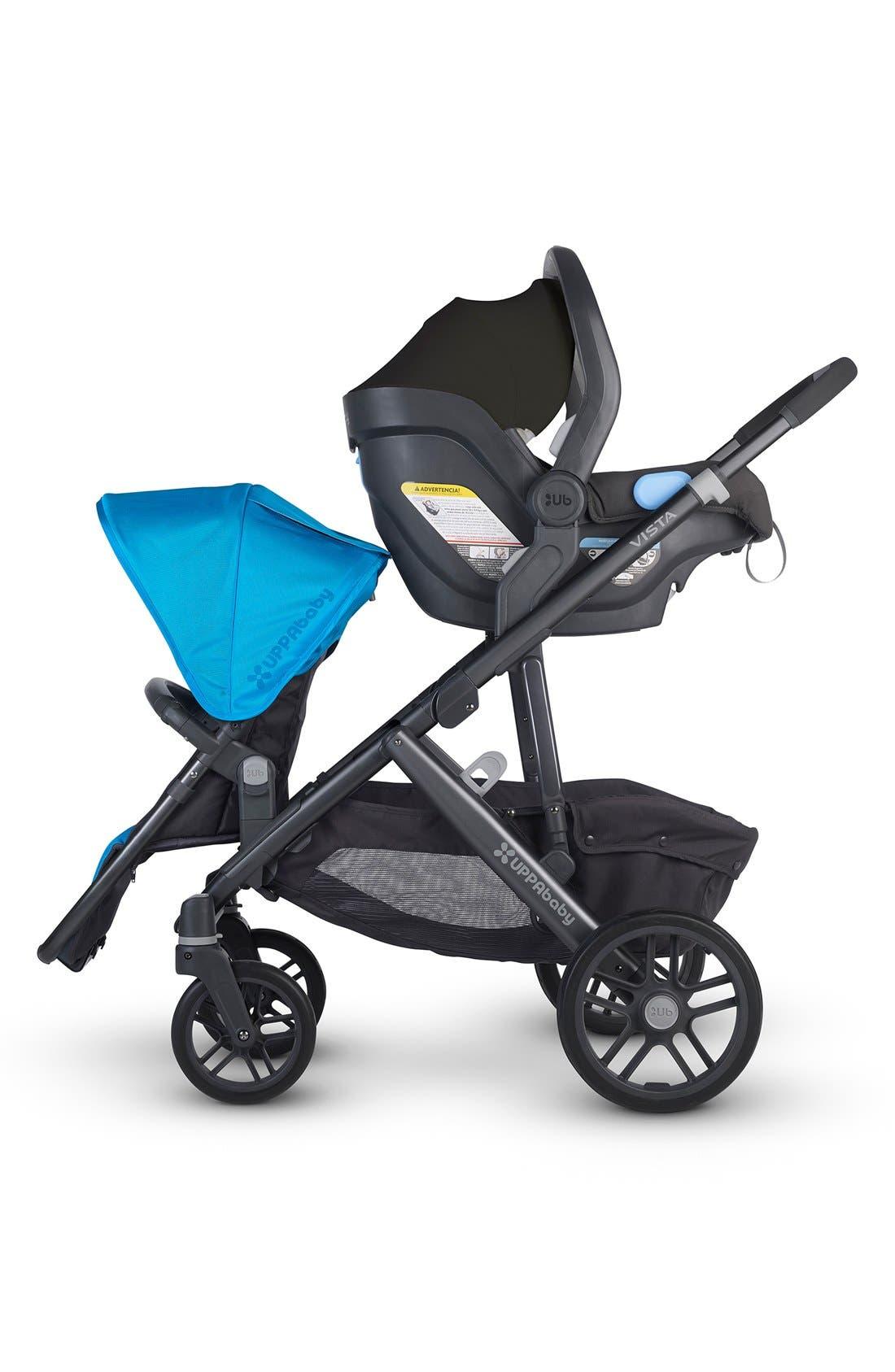 Alternate Image 7  - UPPAbaby VISTA - Carbon Frame Convertible Stroller