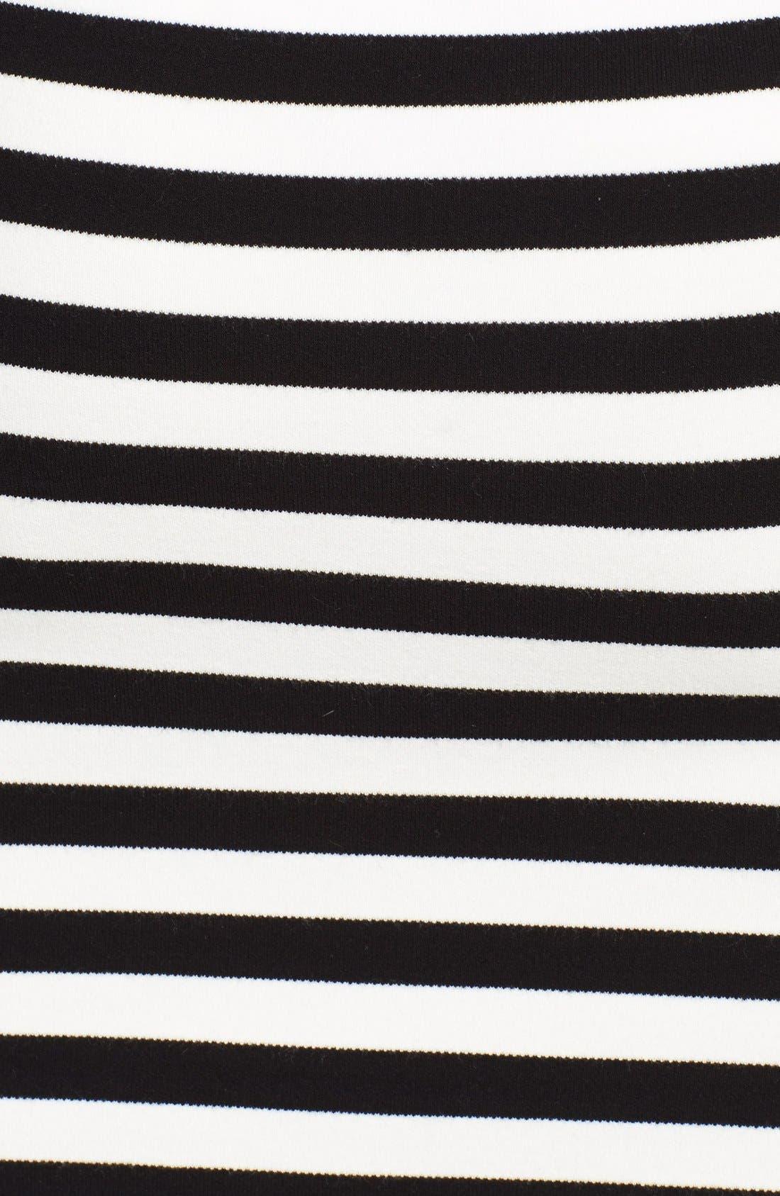 Alternate Image 3  - Michael Kors Stripe Knit Pencil Skirt