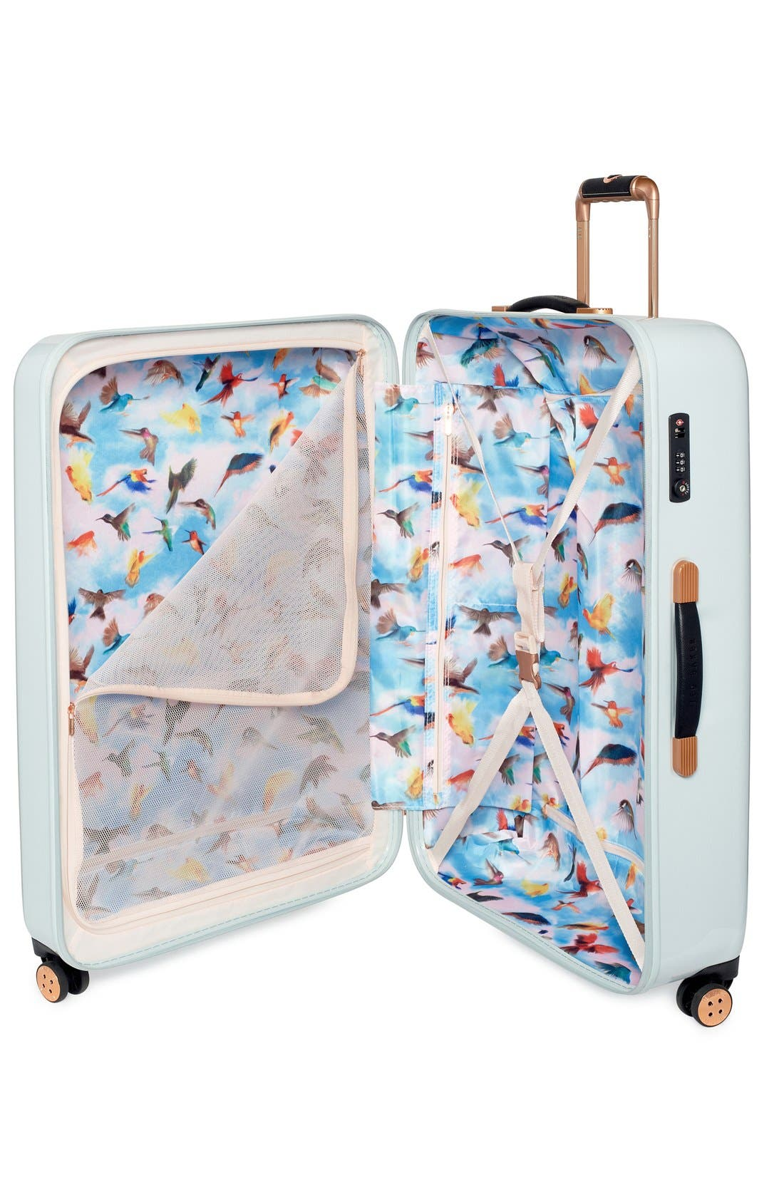 Alternate Image 3  - Ted Baker London 'Large Rose' Hard Shell Suitcase (32 Inch)