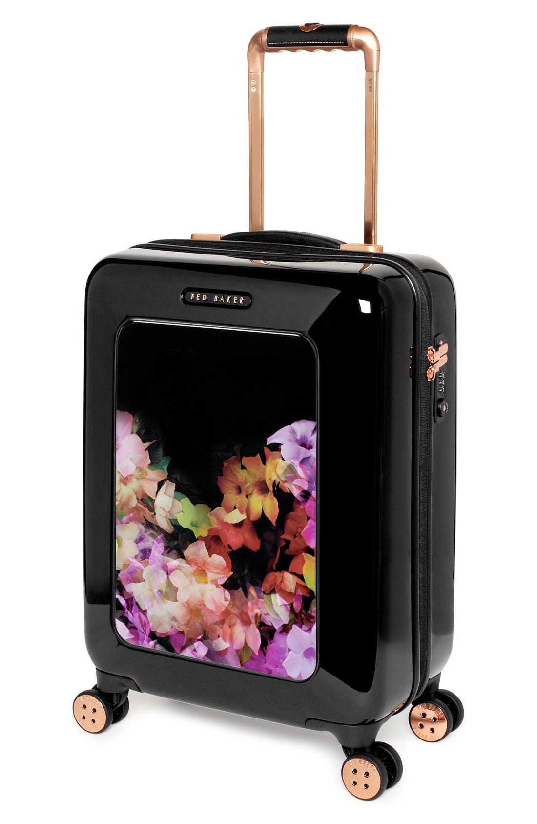 Alternate Image 4  - Ted Baker London 'Small Cascade Floral' Hard Shell Suitcase (22 Inch)