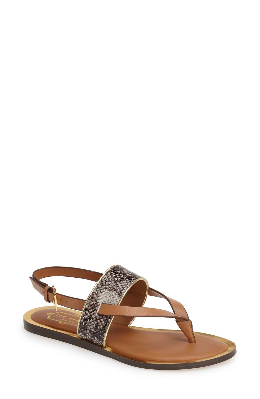 Alternate Image 1 Selected - Ted Baker London 'Dendrum' Sandal (Women)