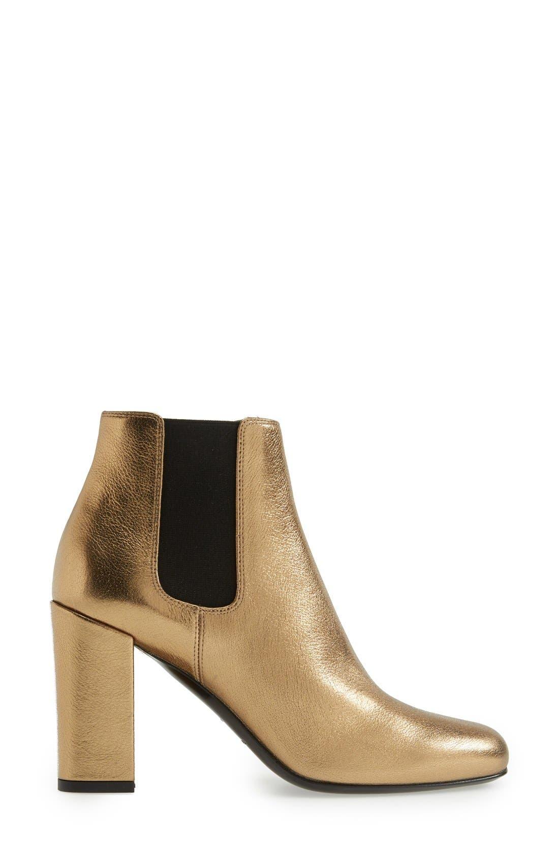 Alternate Image 4  - Saint Laurent 'Babies' Chelsea Boot (Women)