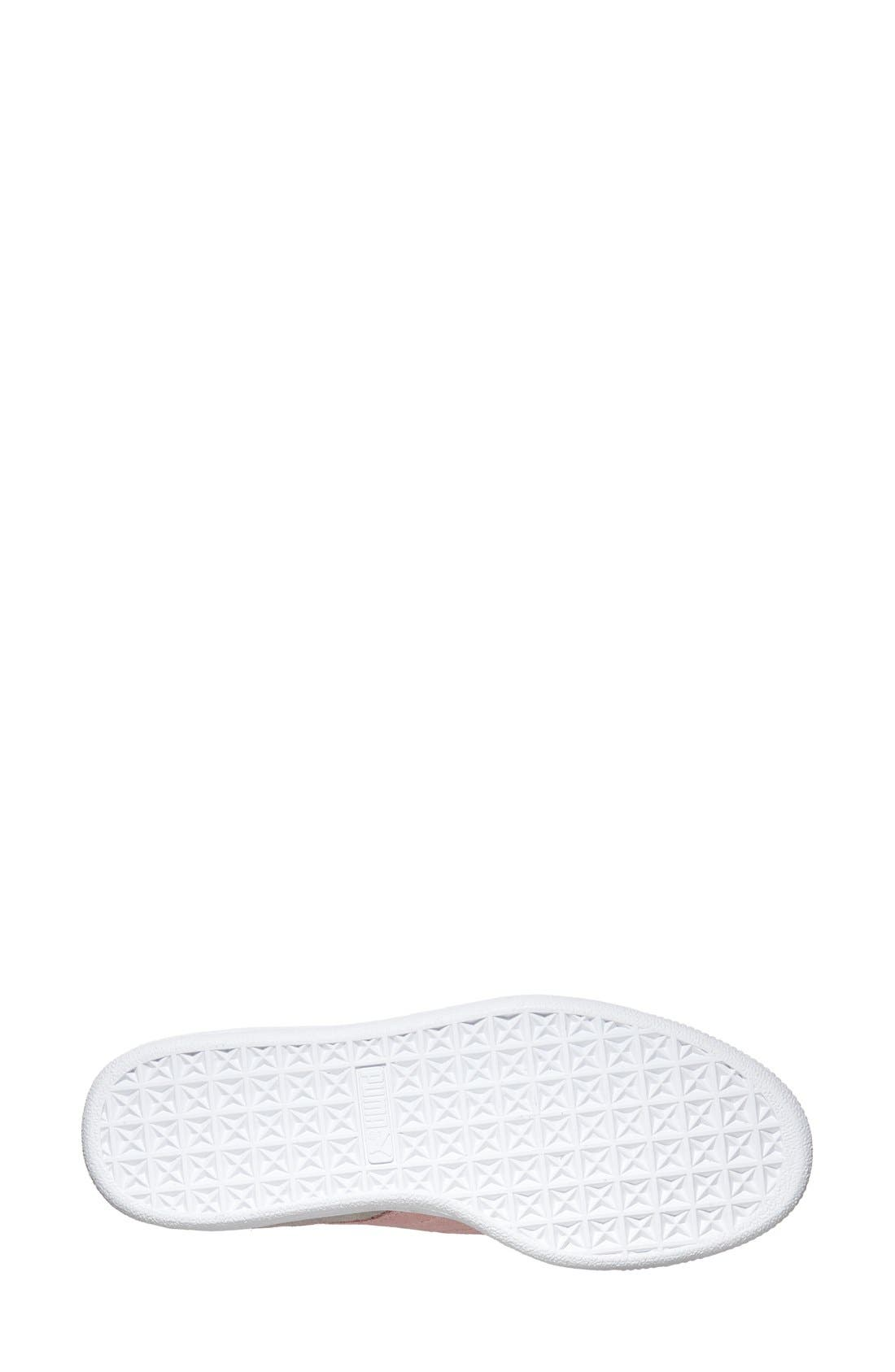Alternate Image 4  - PUMA 'Classic' Suede Sneaker (Women)