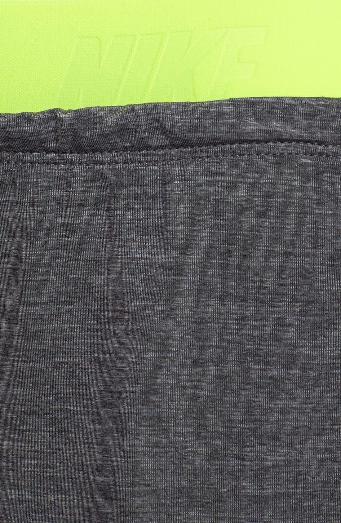 Alternate Image 4  - Nike 'Pro Inside Full Flex' Dri-FIT Training Shorts (Women)